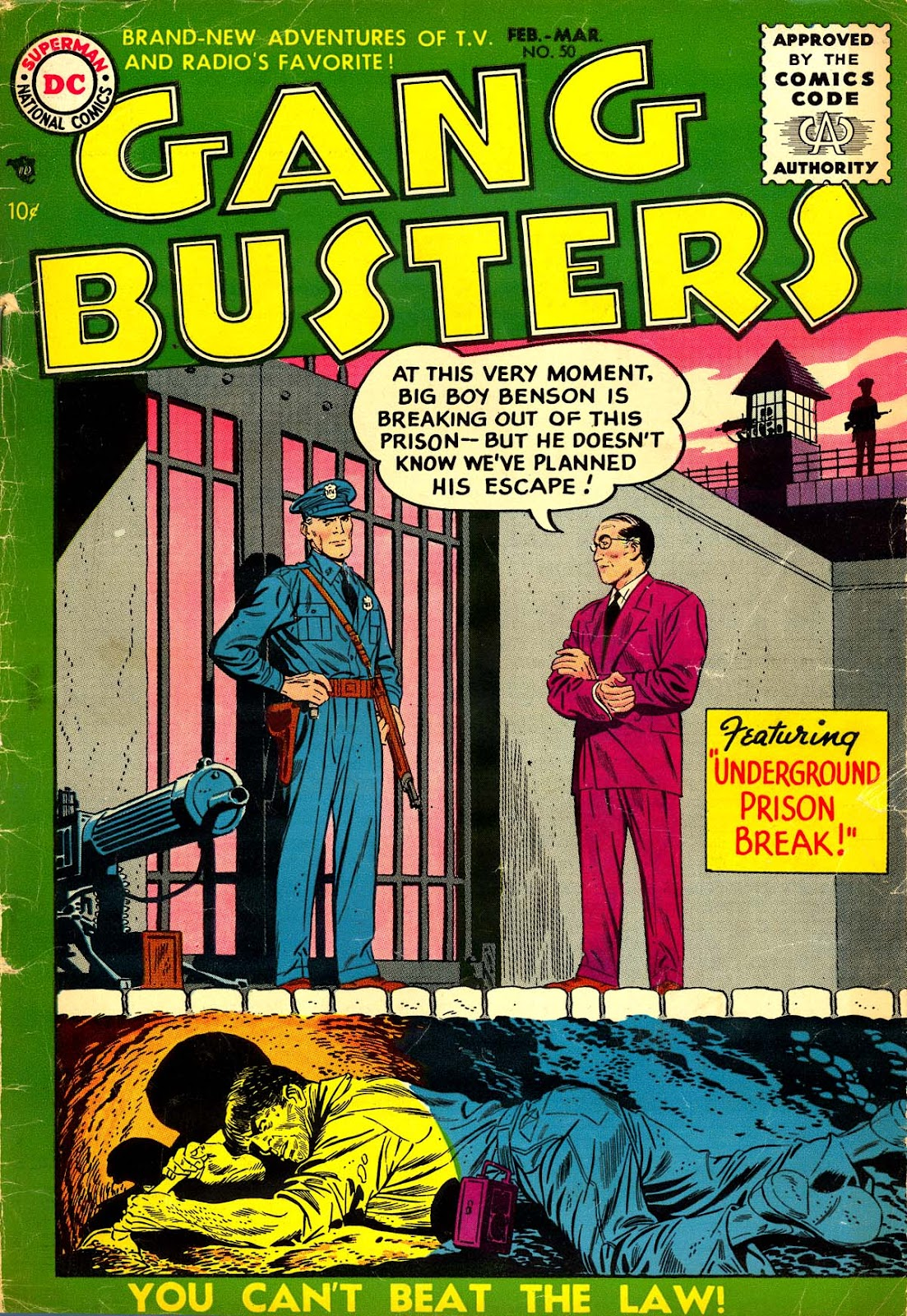 Gang Busters issue 50 - Page 1