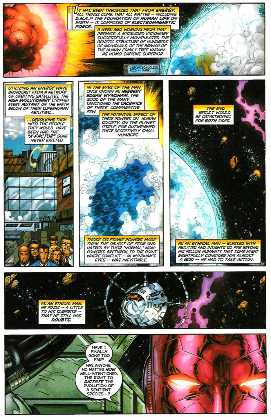 X-Men (1991) 99 Page 1