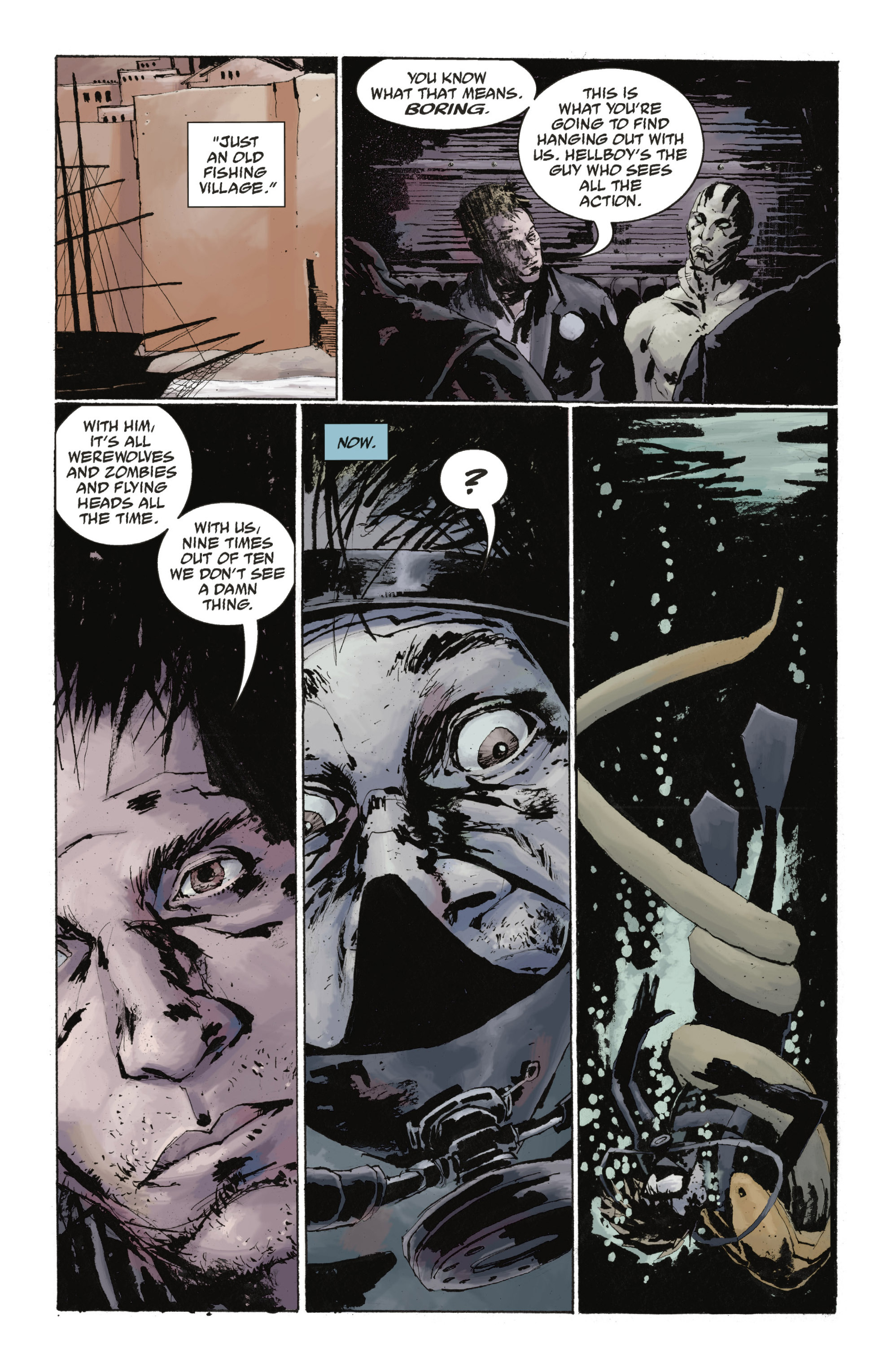 Read online Abe Sapien: The Drowning comic -  Issue #Abe Sapien: The Drowning _TPB - 37