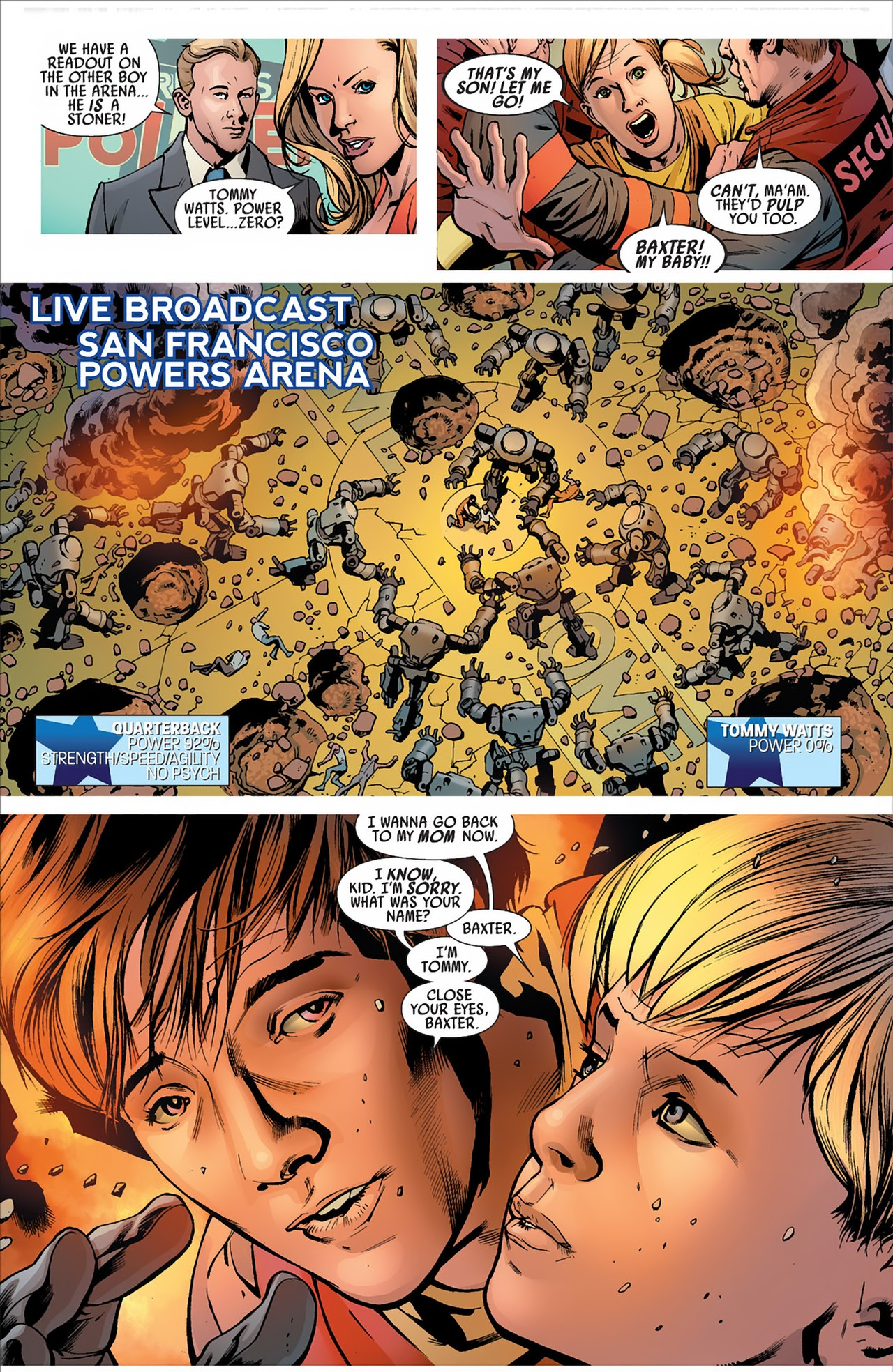 Read online America's Got Powers comic -  Issue #2 - 30