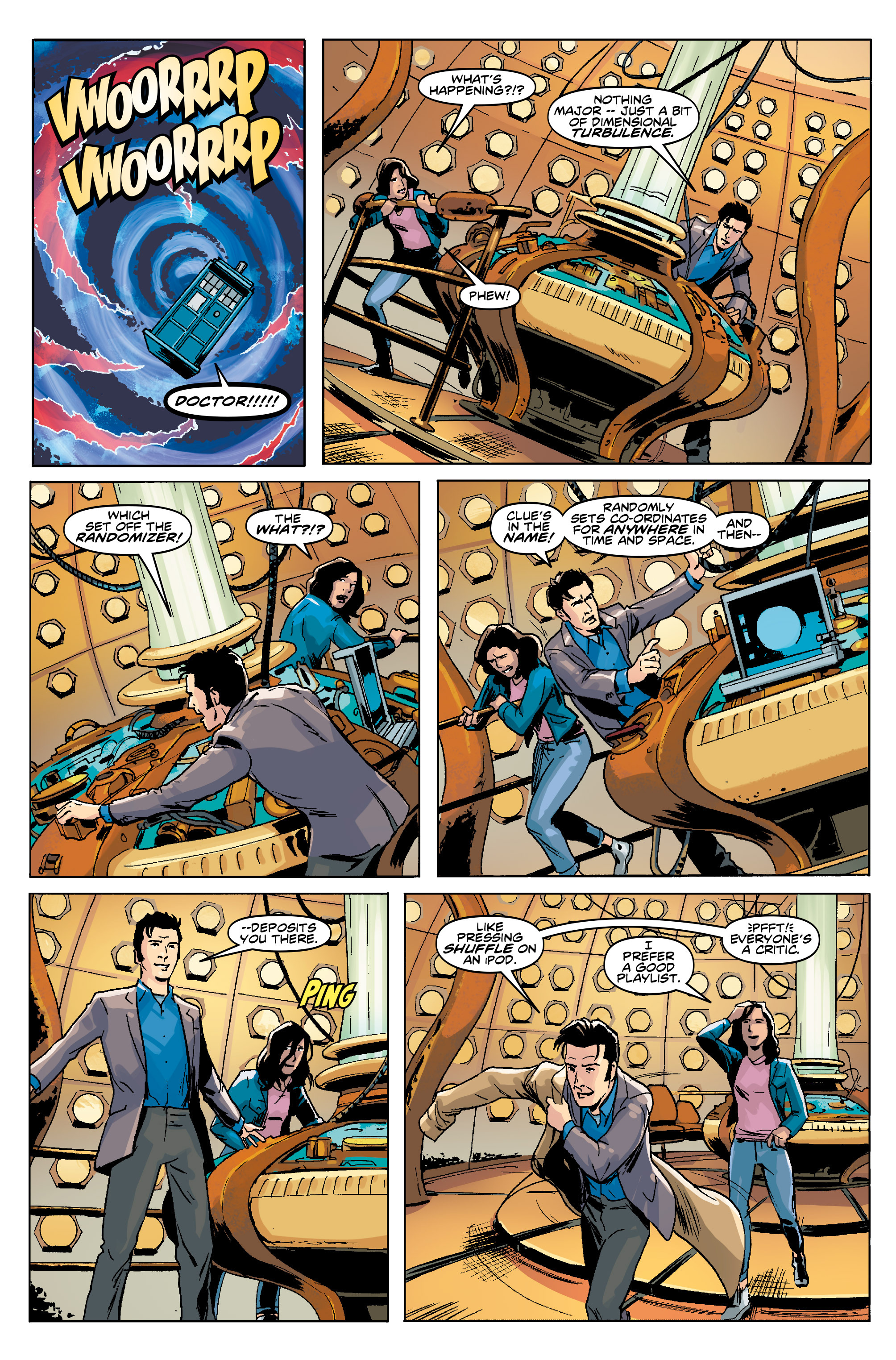 Read online Doctor Who: The Tenth Doctor Year Three comic -  Issue #5 - 7