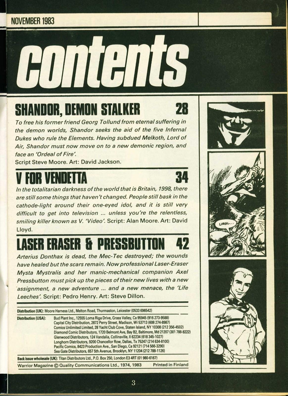 Warrior Issue #15 #16 - English 3