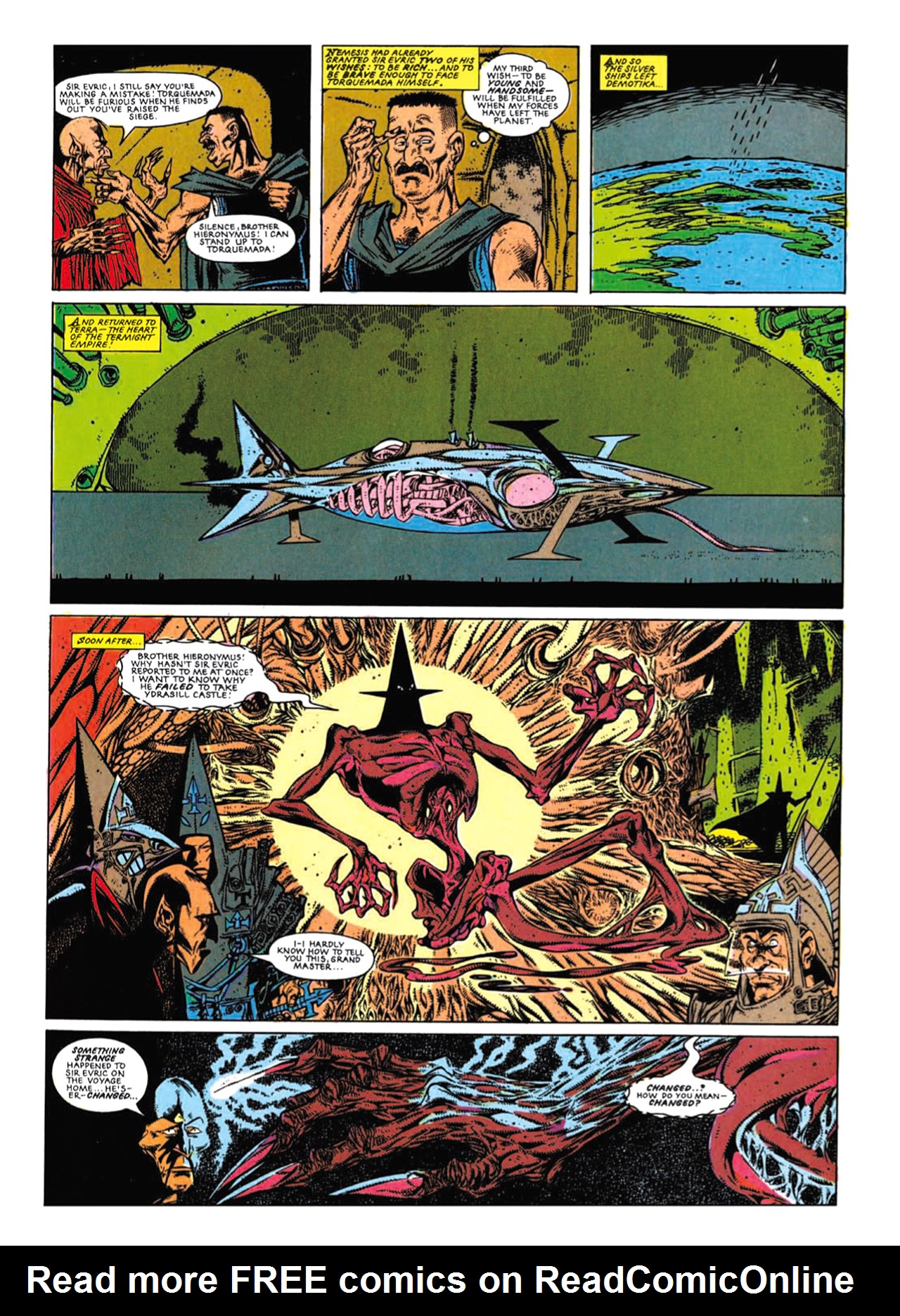 Read online Nemesis The Warlock comic -  Issue # TPB Deviant Edition - 206