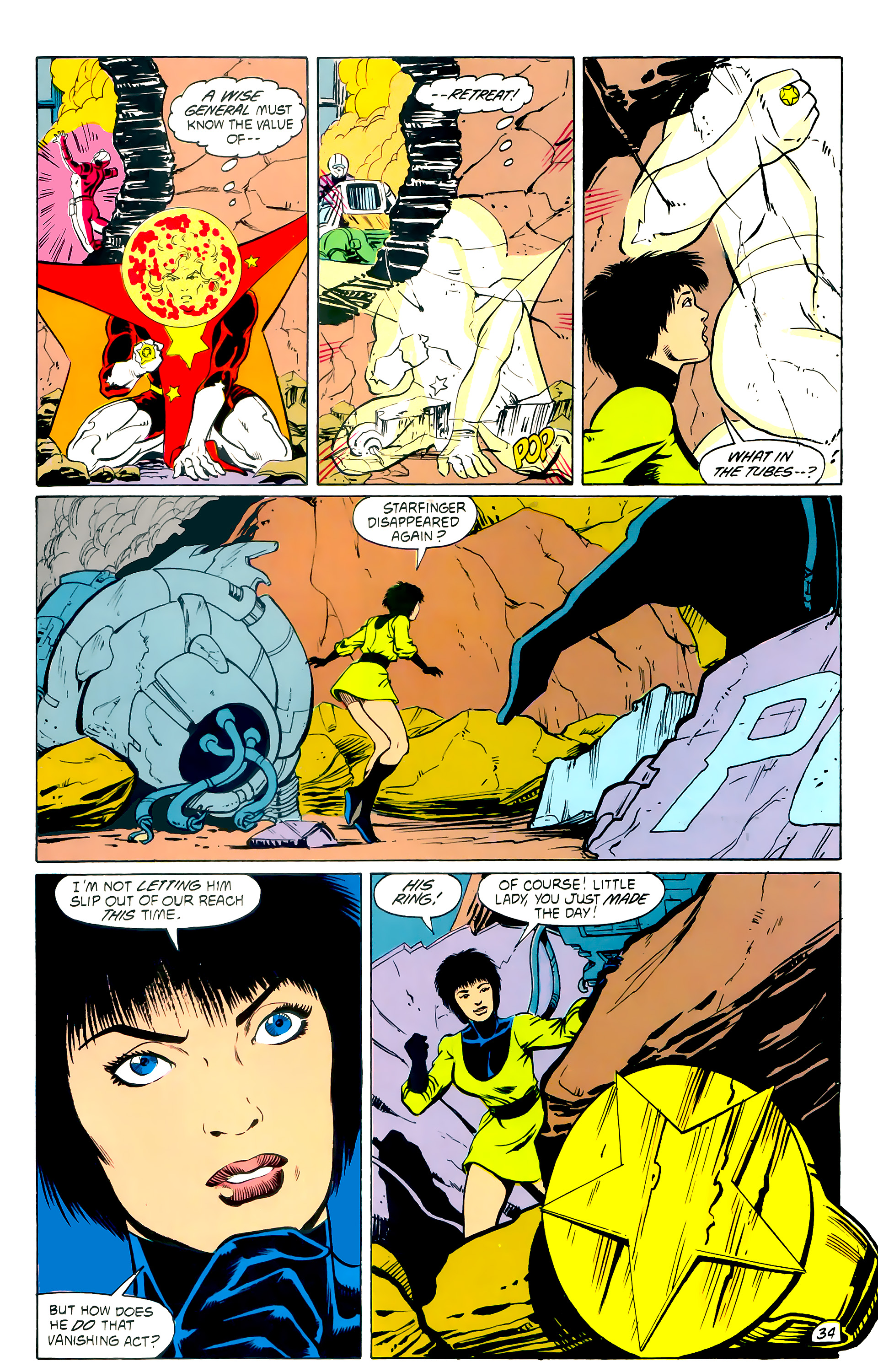 Legion of Super-Heroes (1984) _Annual_4 Page 34