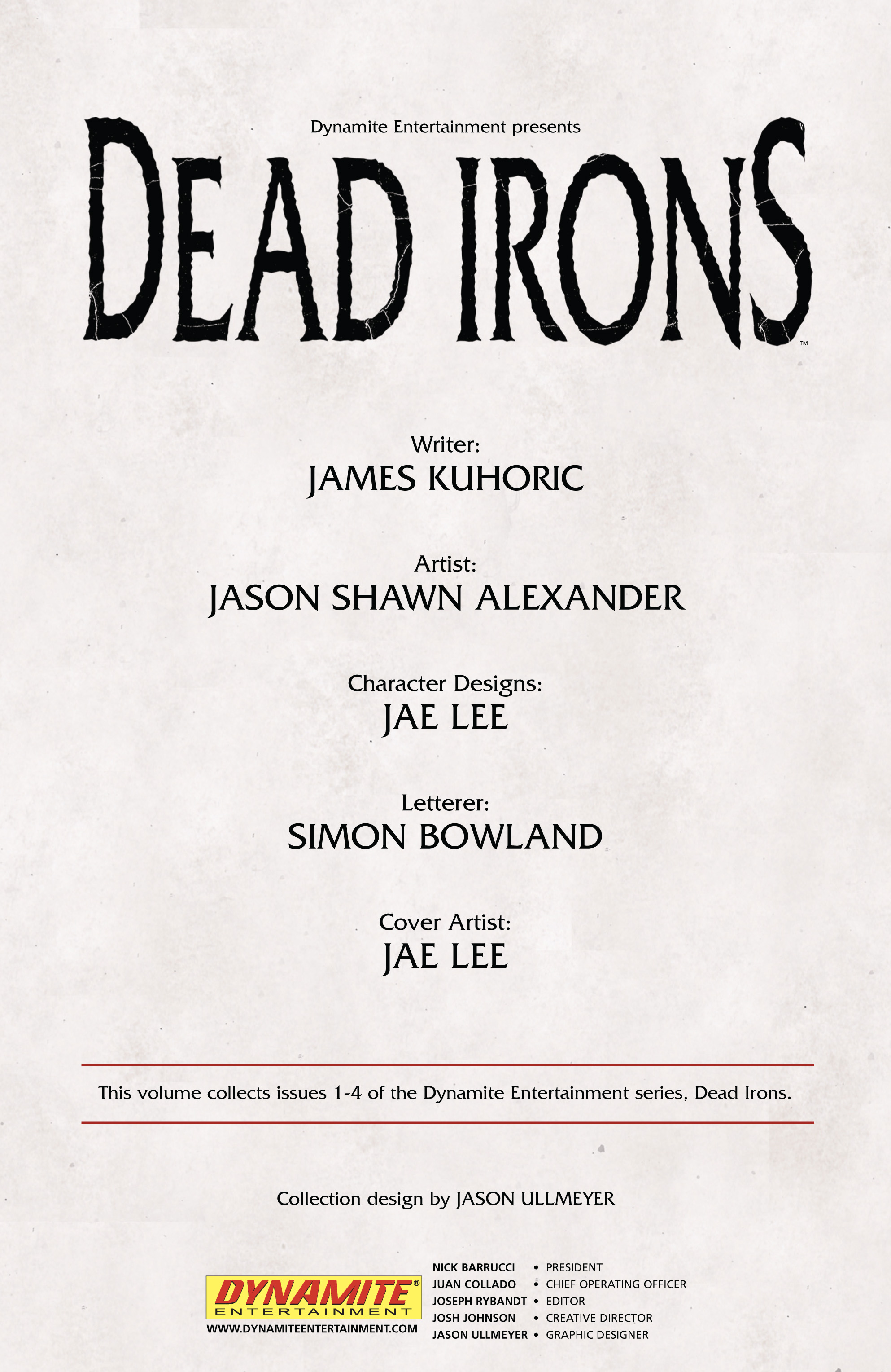 Read online Dead Irons comic -  Issue # TPB - 4