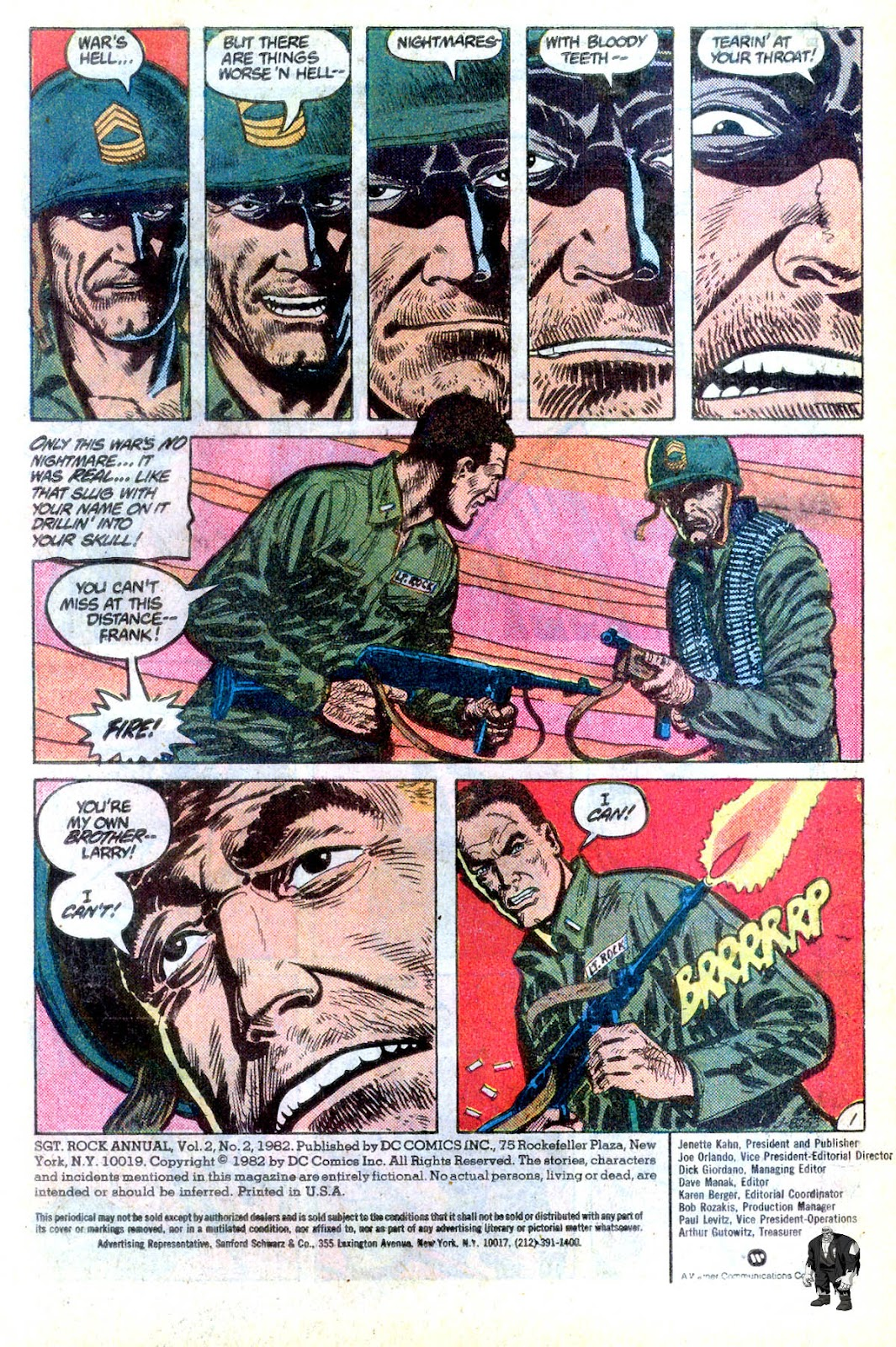 Sgt. Rock issue Annual 2 - Page 2