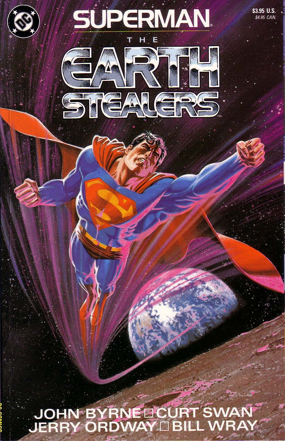 Superman: The Earth Stealers Full Page 1