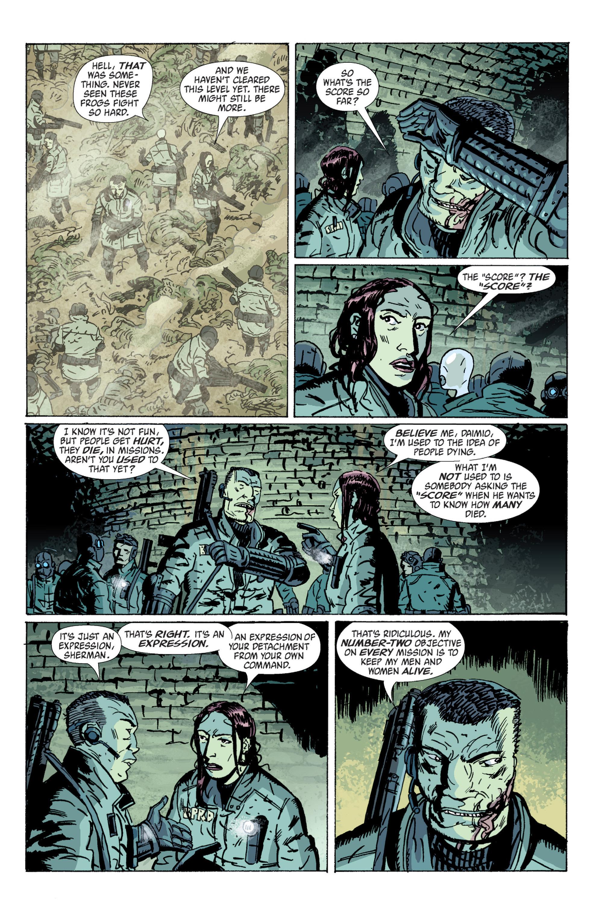 Read online B.P.R.D. (2003) comic -  Issue # TPB 5 - 22