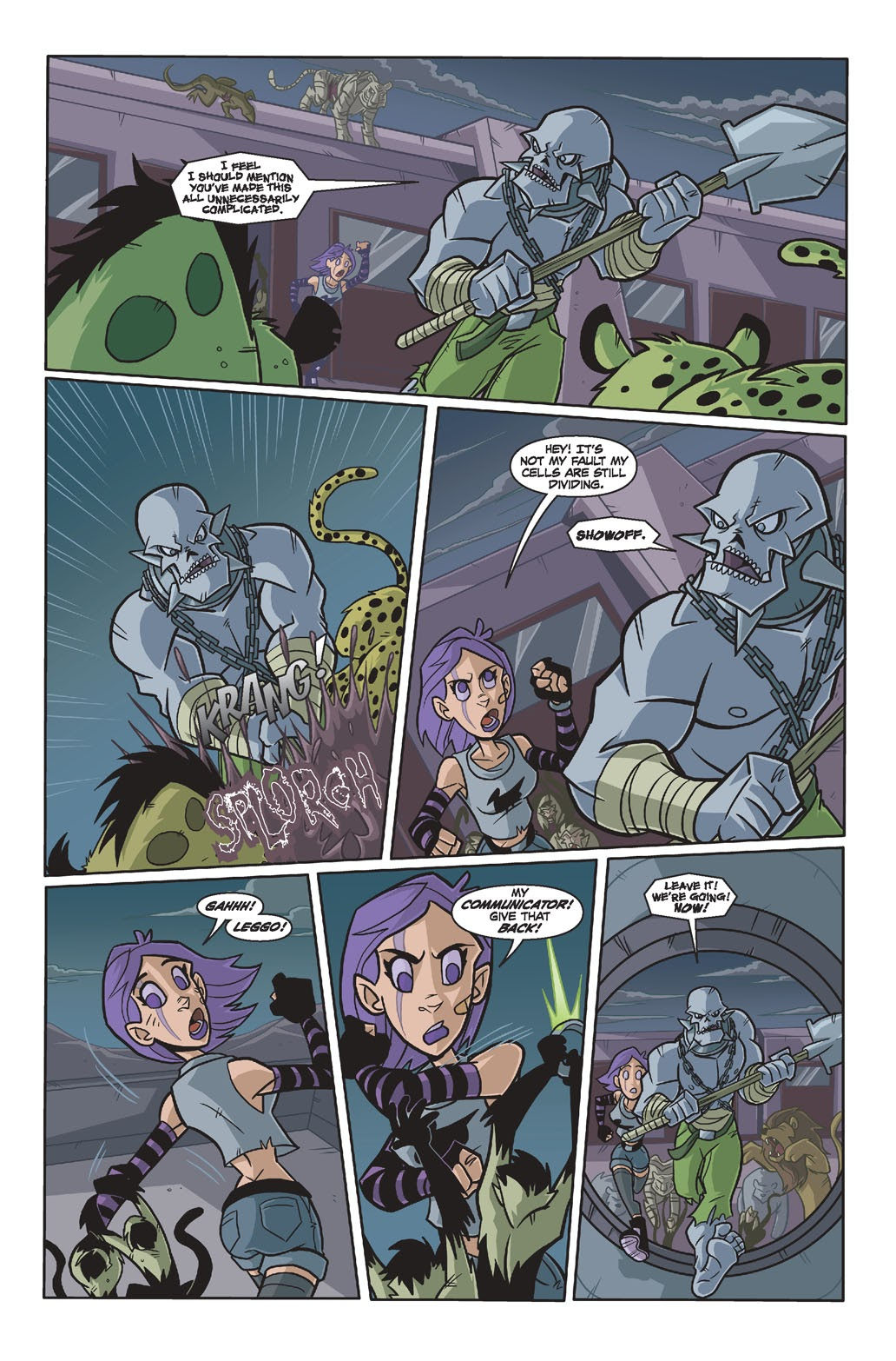 Read online Xombie Reanimated comic -  Issue #4 - 5