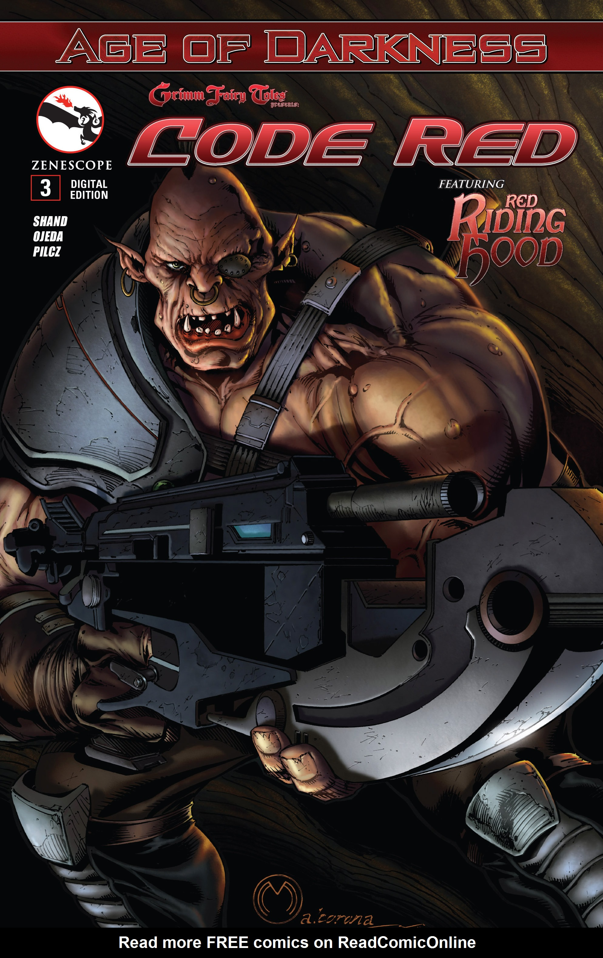 Read online Grimm Fairy Tales presents Code Red comic -  Issue # TPB - 53