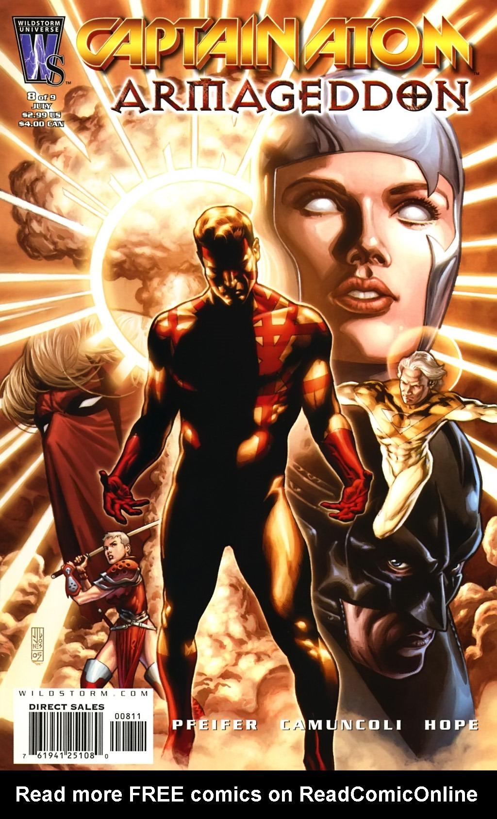 Captain Atom: Armageddon 8 Page 1