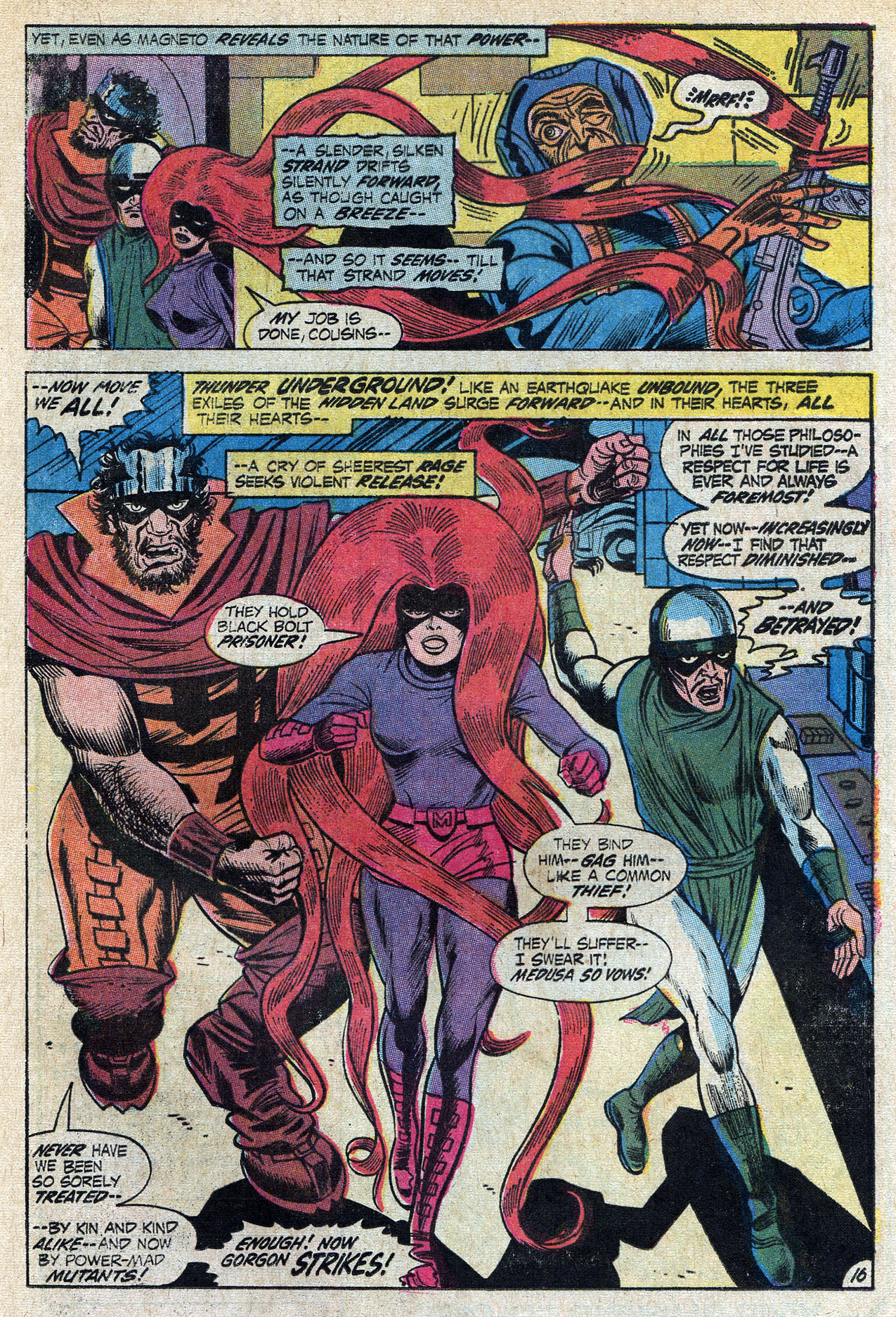 Read online Amazing Adventures (1970) comic -  Issue #9 - 25