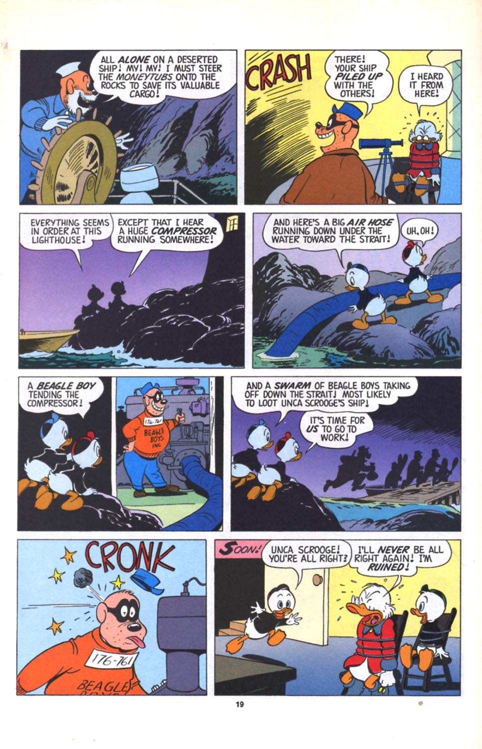 Read online Uncle Scrooge (1953) comic -  Issue #280 - 20