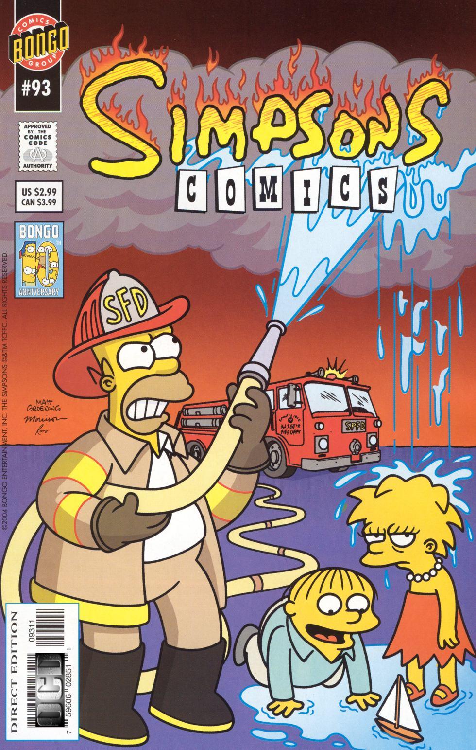 Read online Simpsons Comics comic -  Issue #93 - 1