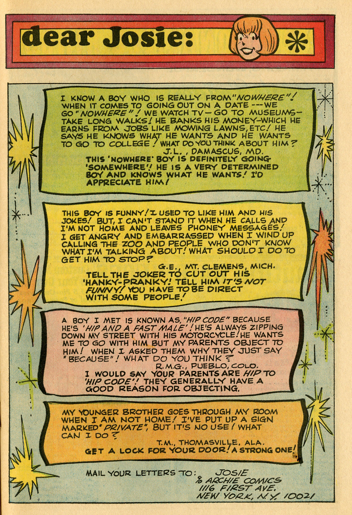 Read online She's Josie comic -  Issue #31 - 27