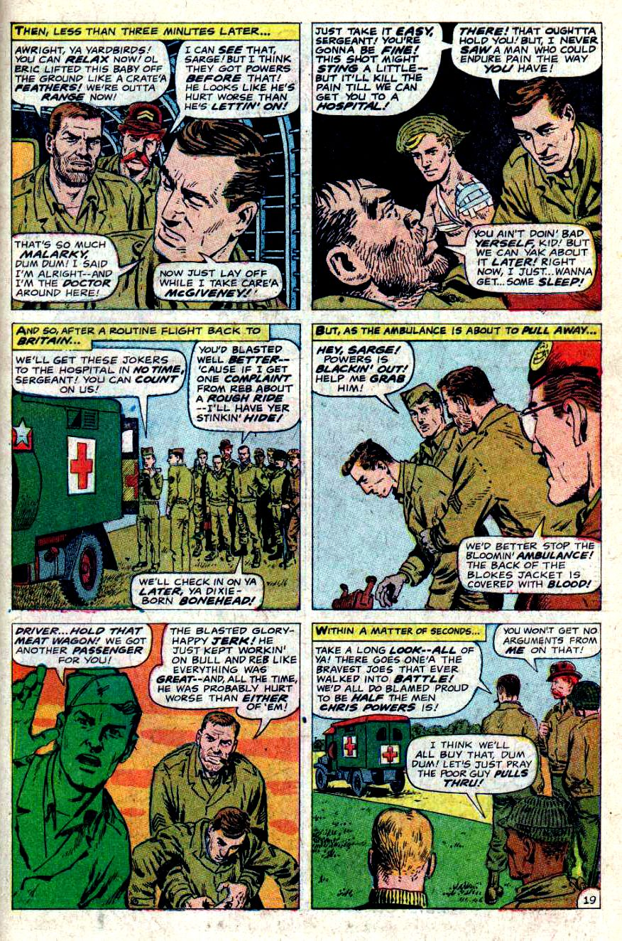 Read online Sgt. Fury comic -  Issue #46 - 27