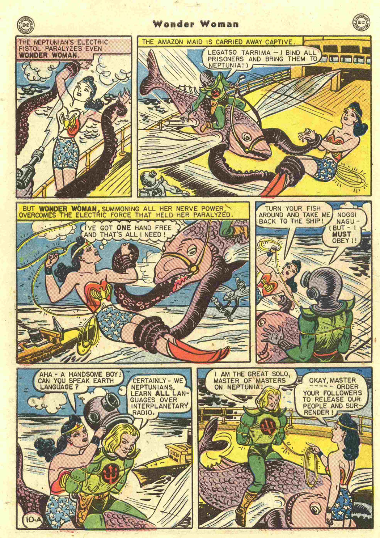 Read online Wonder Woman (1942) comic -  Issue #15 - 12
