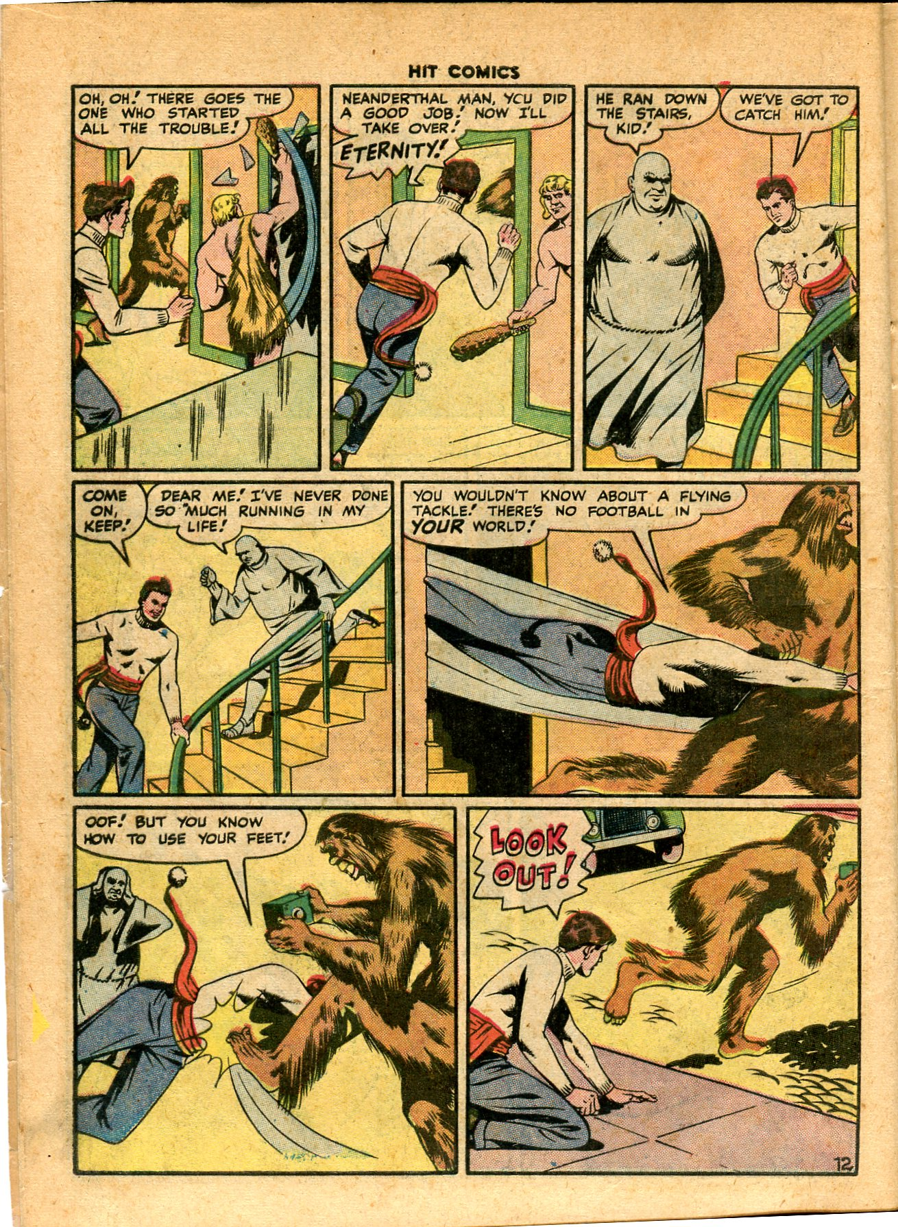 Read online Hit Comics comic -  Issue #49 - 14