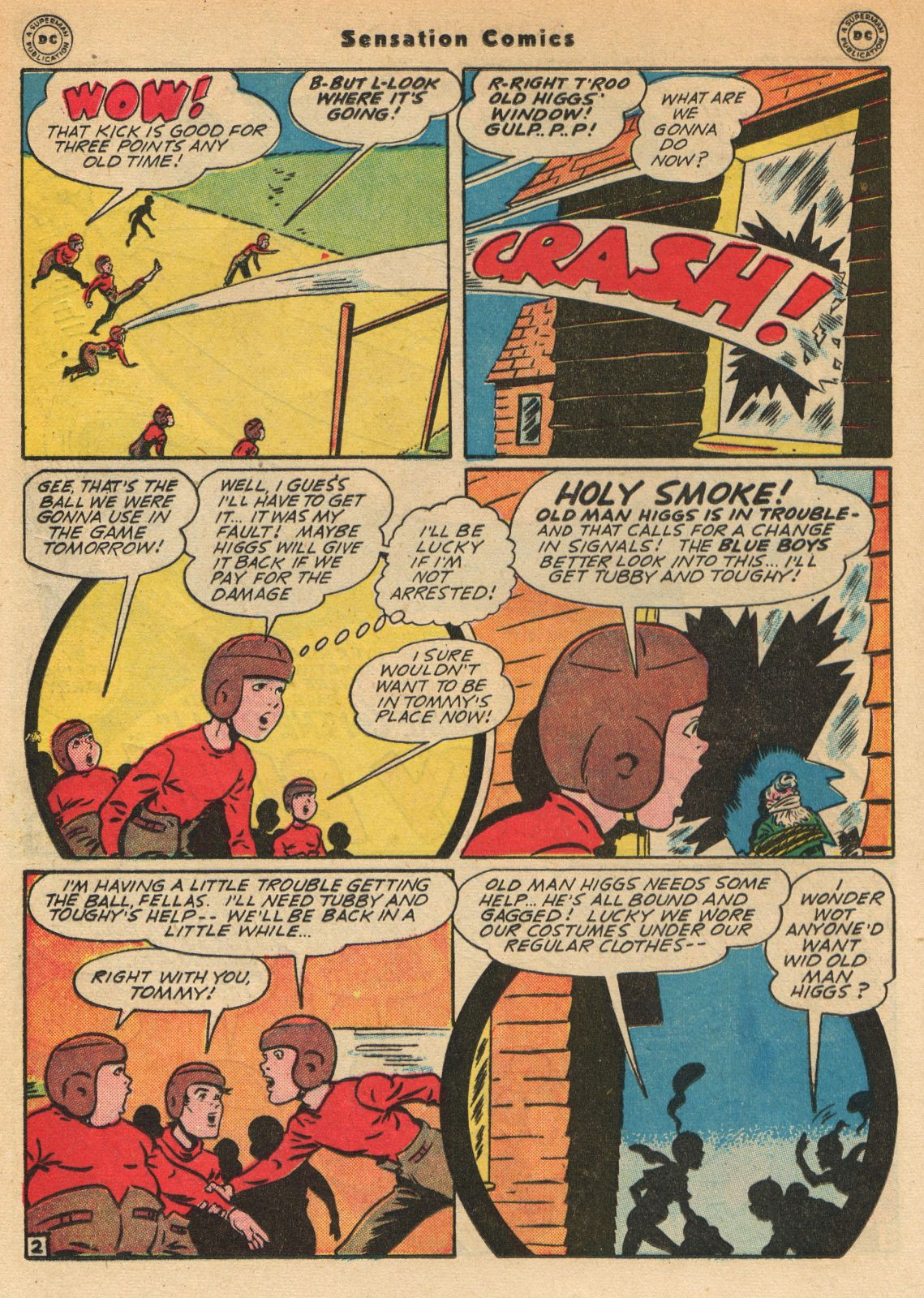 Read online Sensation (Mystery) Comics comic -  Issue #51 - 18