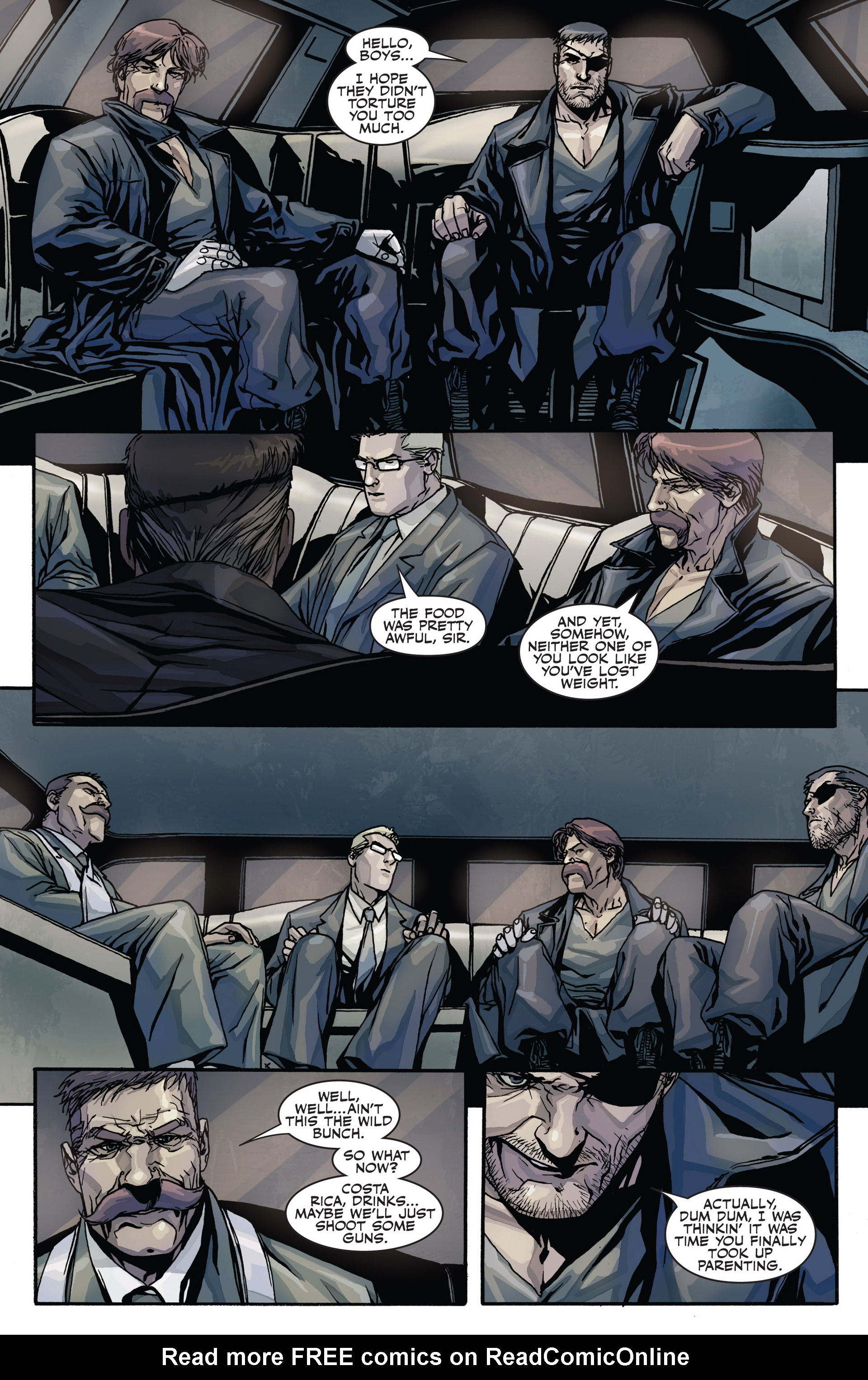 Read online Secret Warriors comic -  Issue #28 - 11