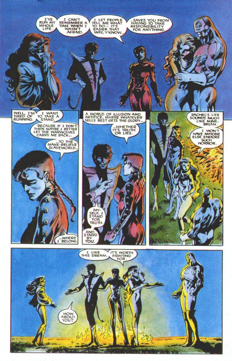 Read online Excalibur: The Sword is Drawn comic -  Issue # Full - 48