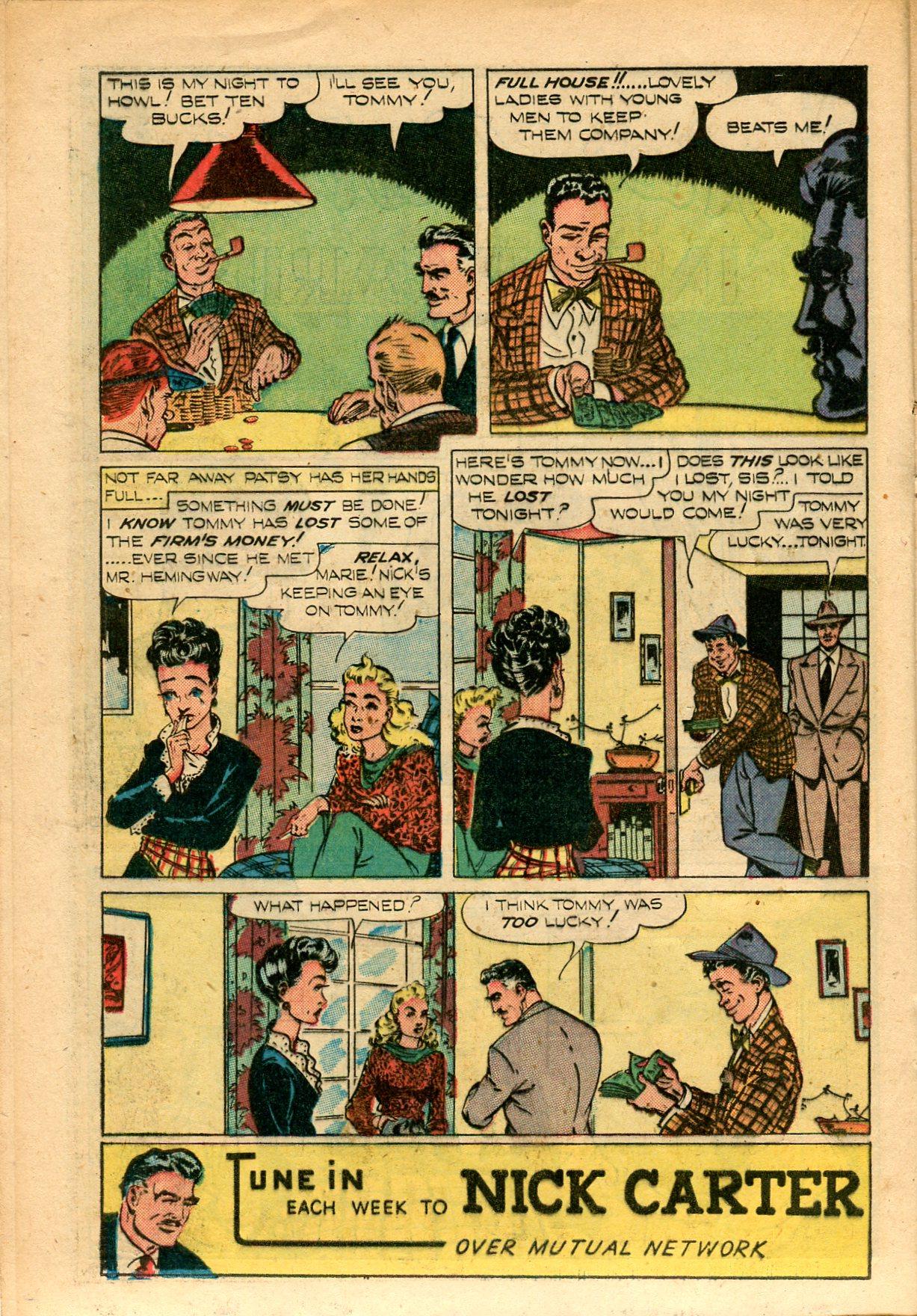 Read online Shadow Comics comic -  Issue #82 - 30