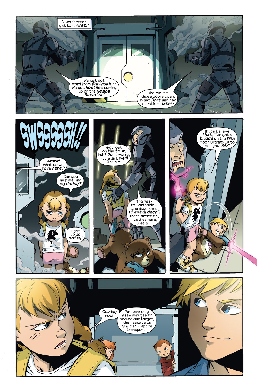 Read online Skrulls vs. Power Pack comic -  Issue #3 - 16