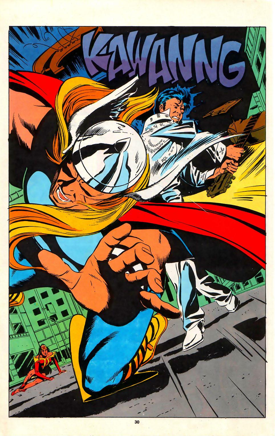 Read online Alpha Flight (1983) comic -  Issue #75 - 27