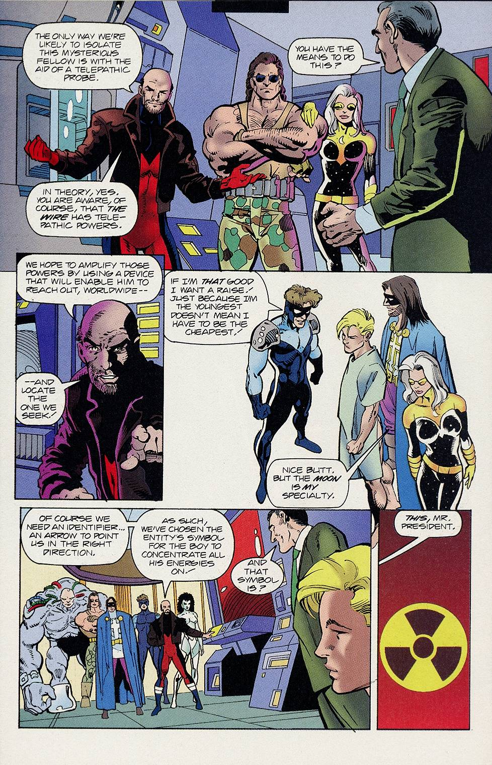 Read online Solar, Man of the Atom comic -  Issue #46 - 20