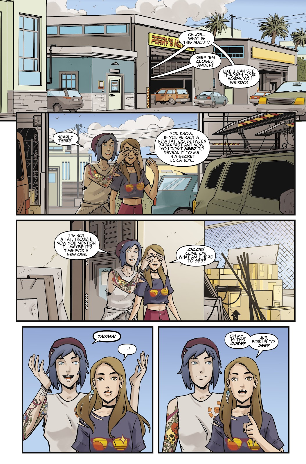 Read online Life is Strange comic -  Issue #10 - 7