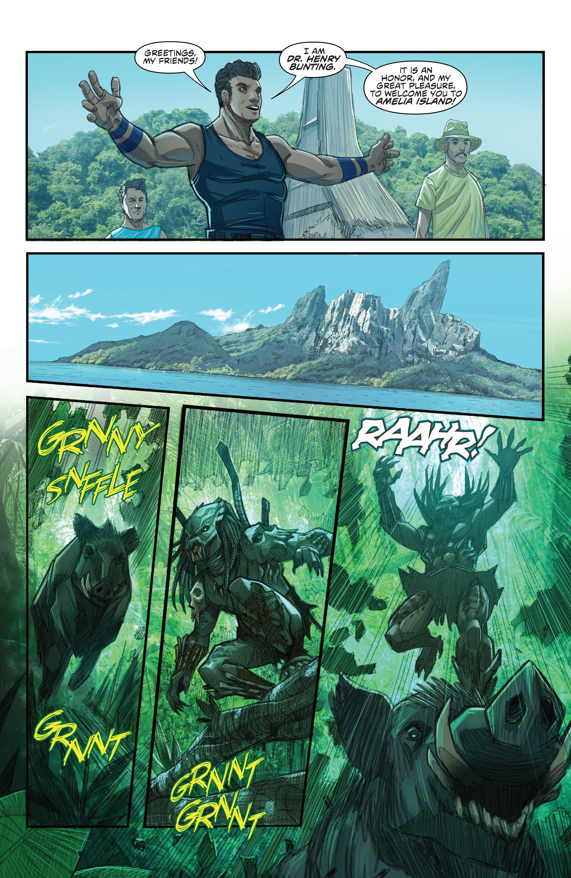 Read online Predator: Hunters comic -  Issue #2 - 23