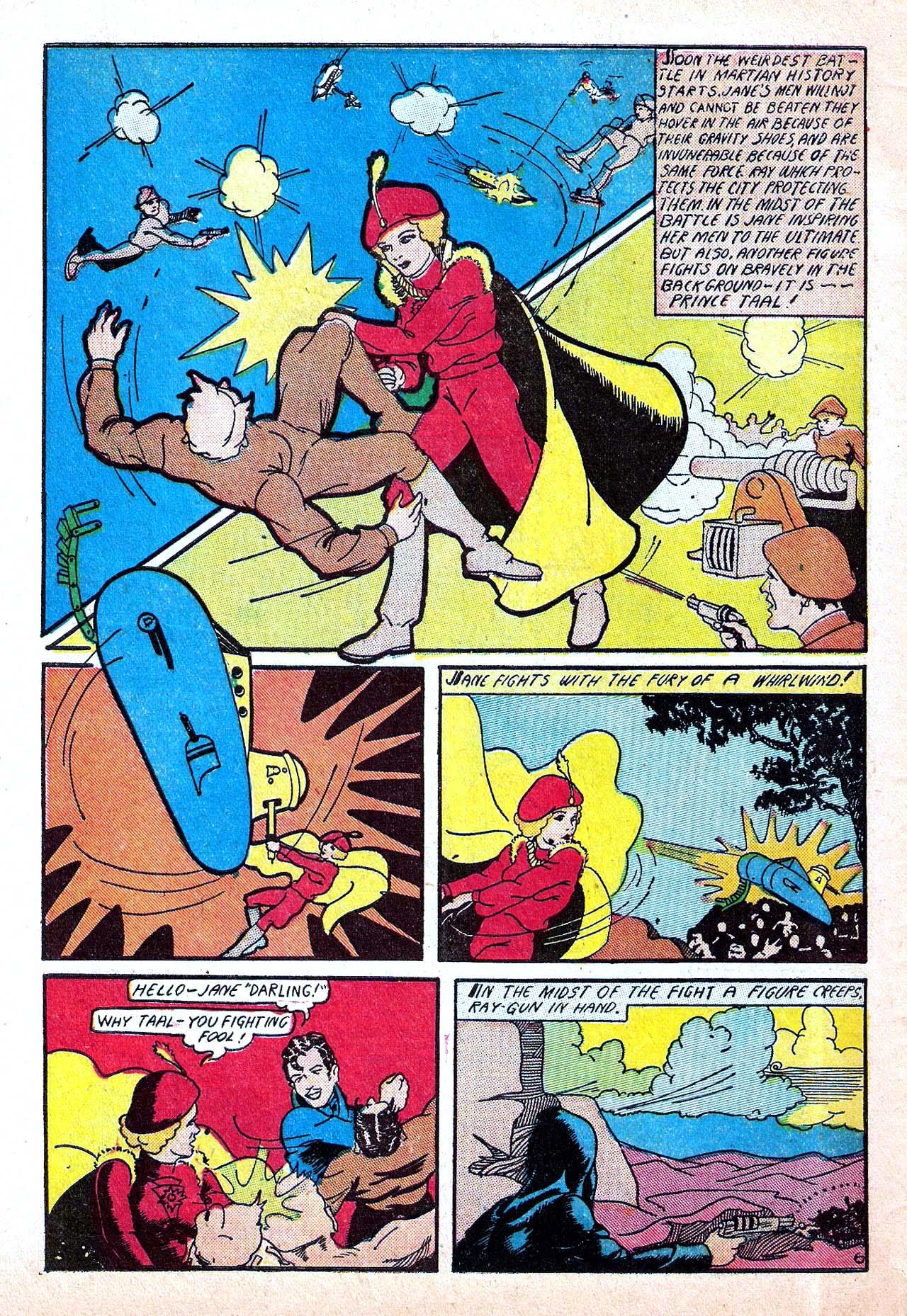 Read online Amazing Man Comics comic -  Issue #11 - 64