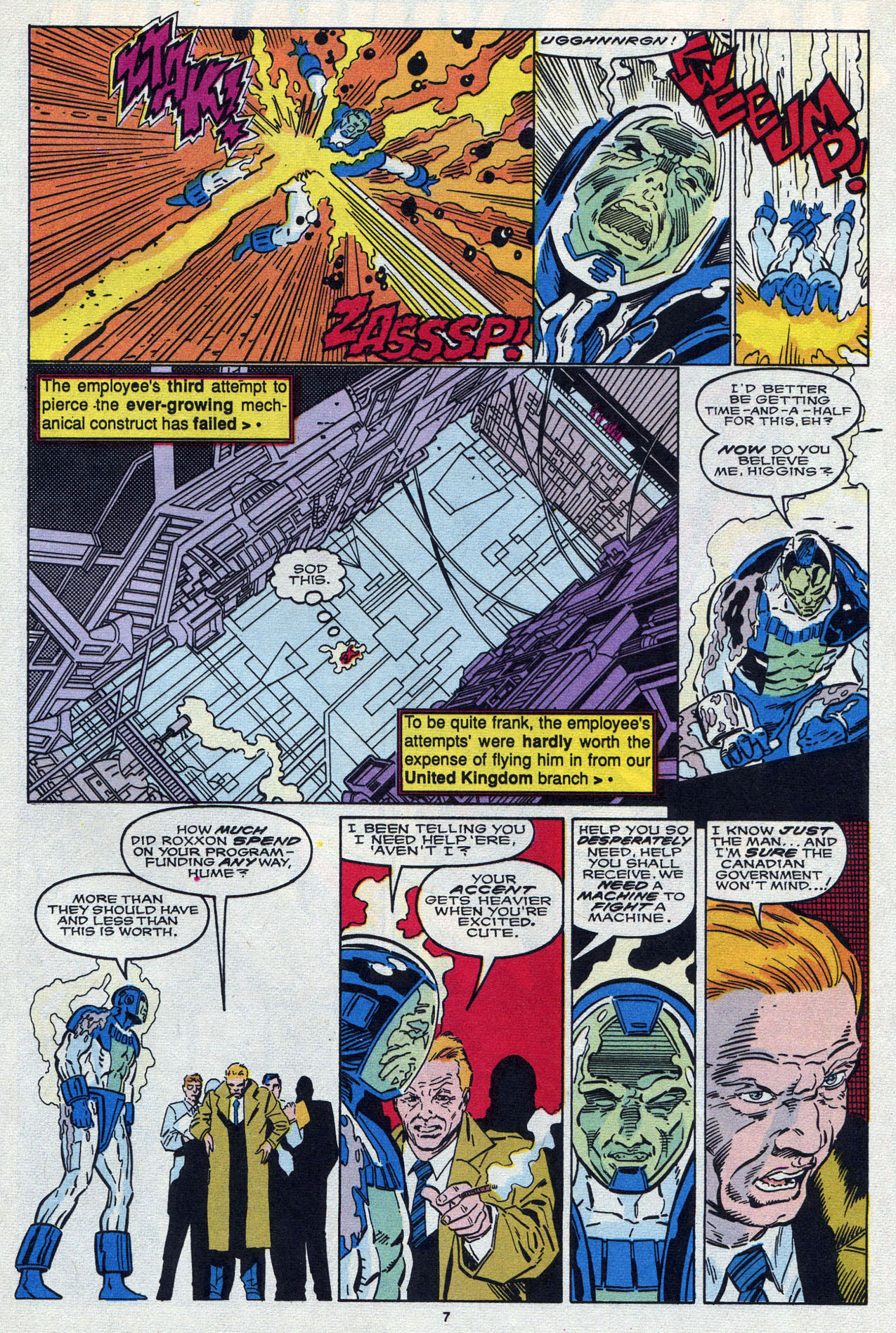 Read online Alpha Flight (1983) comic -  Issue #87 - 9
