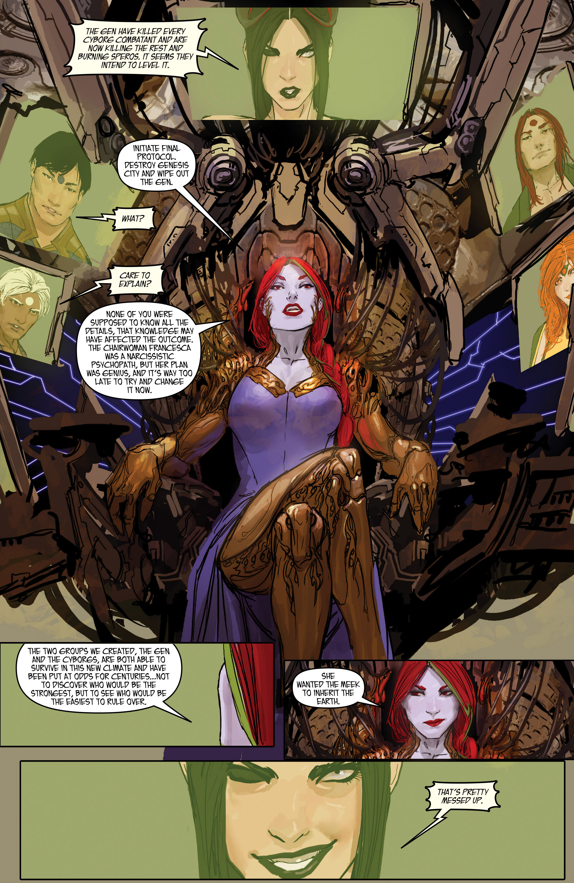 Read online Aphrodite IX (2013) comic -  Issue #Aphrodite IX (2013) _TPB 2 - 112