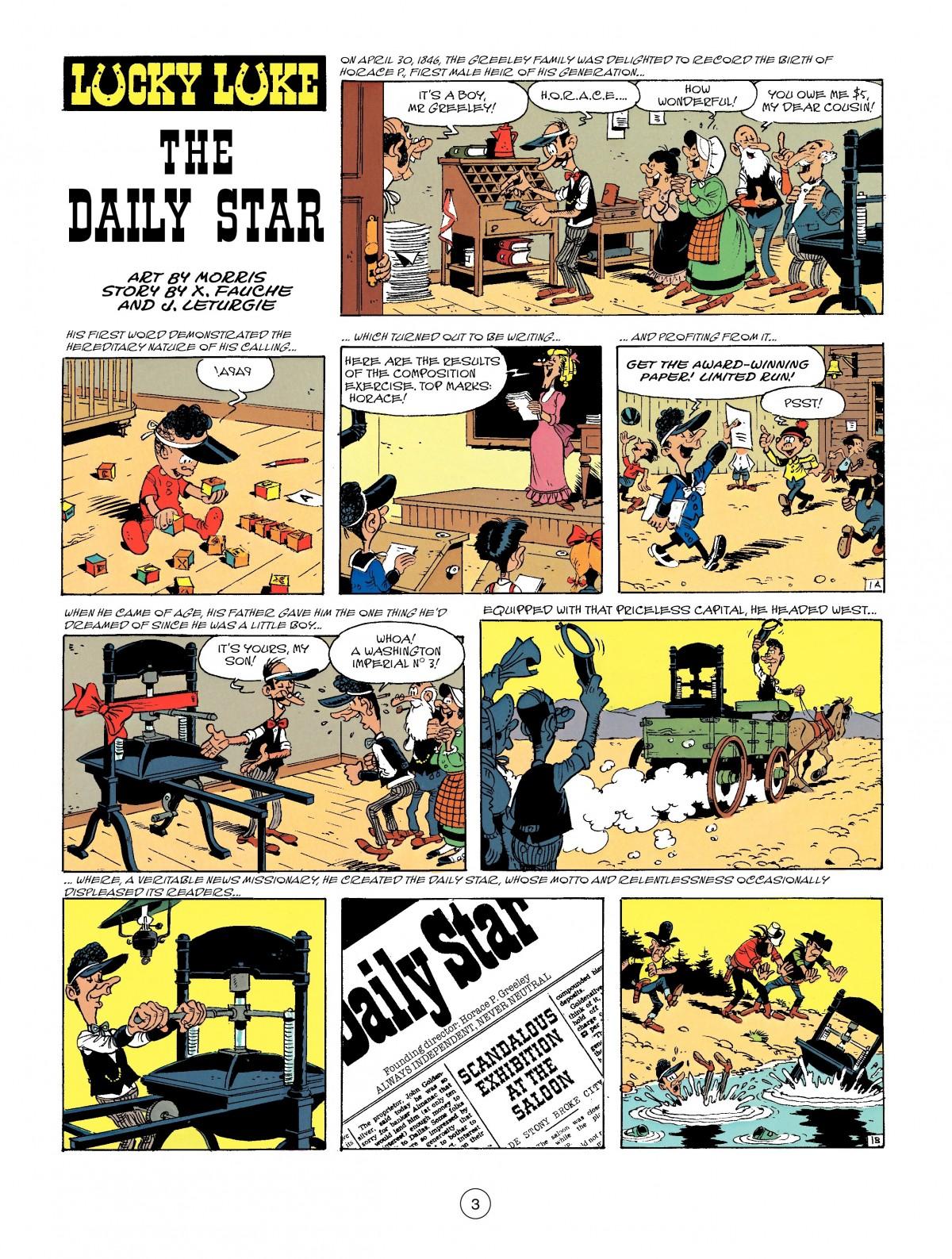 Read online A Lucky Luke Adventure comic -  Issue #41 - 3