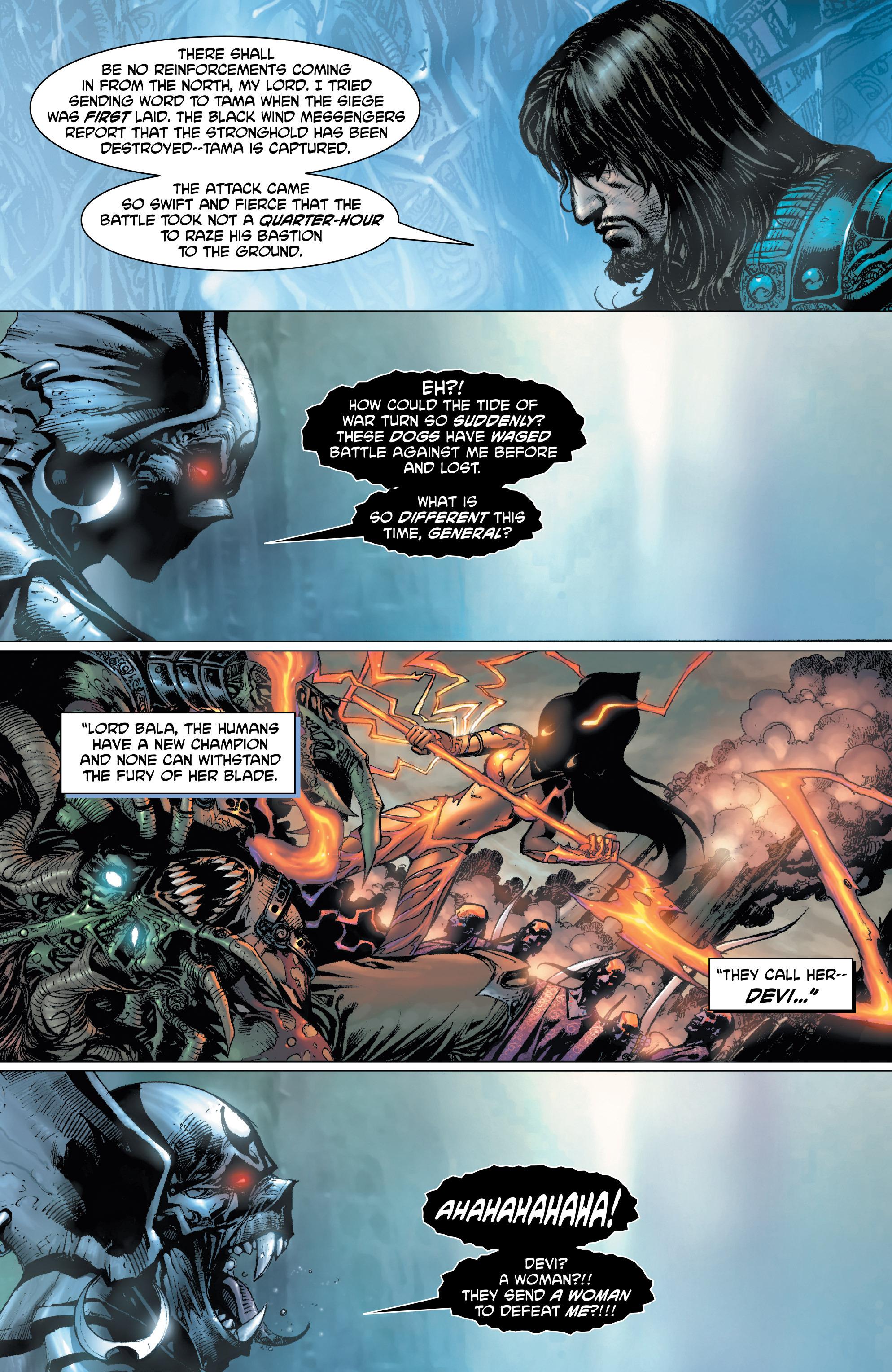 Read online Shekhar Kapur's Devi: Rebirth comic -  Issue #1 - 6