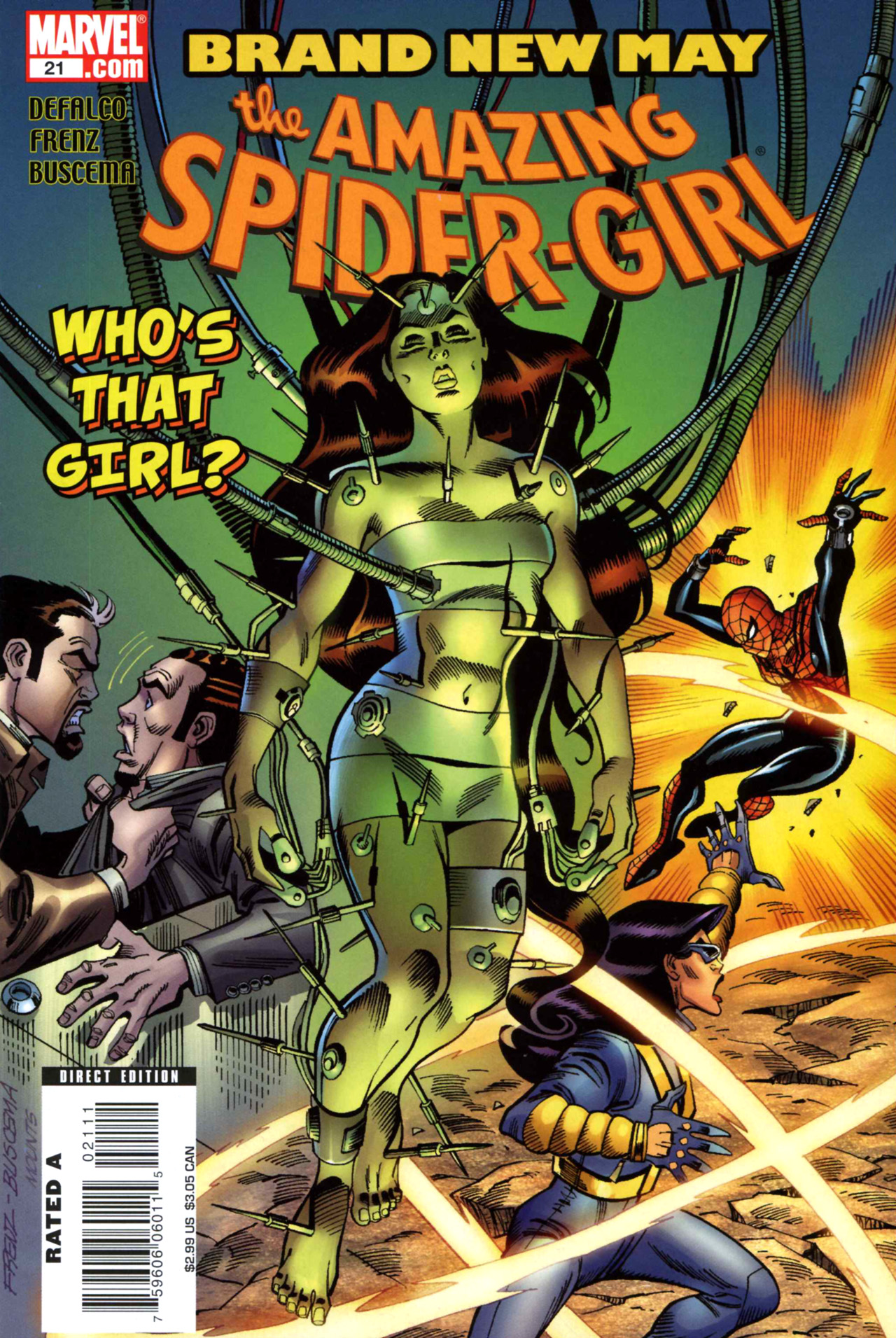 Read online Amazing Spider-Girl comic -  Issue #21 - 1