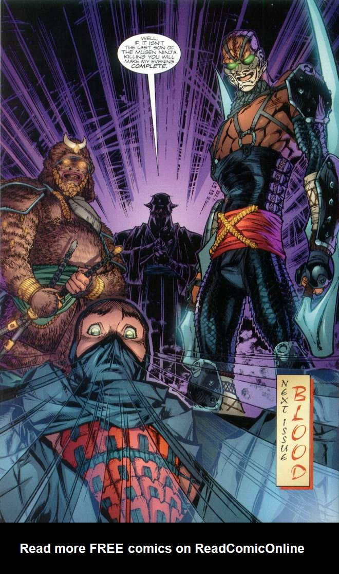 Read online Ninja Boy comic -  Issue #1 - 33
