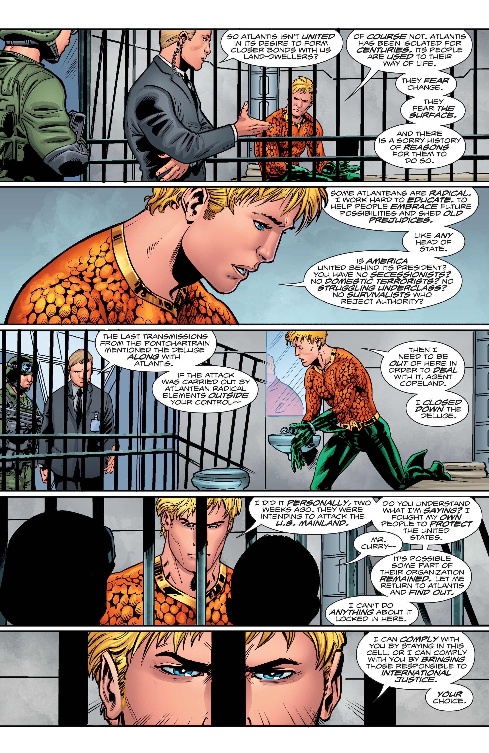 Read online Aquaman (2016) comic -  Issue #4 - 18