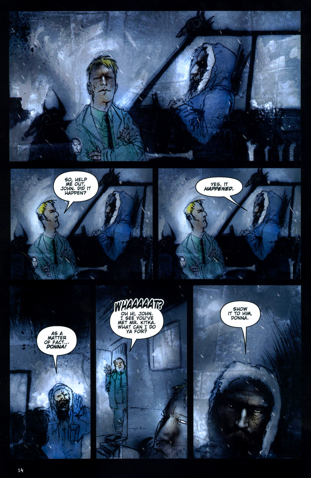 Read online 30 Days of Night: Return to Barrow comic -  Issue #1 - 16