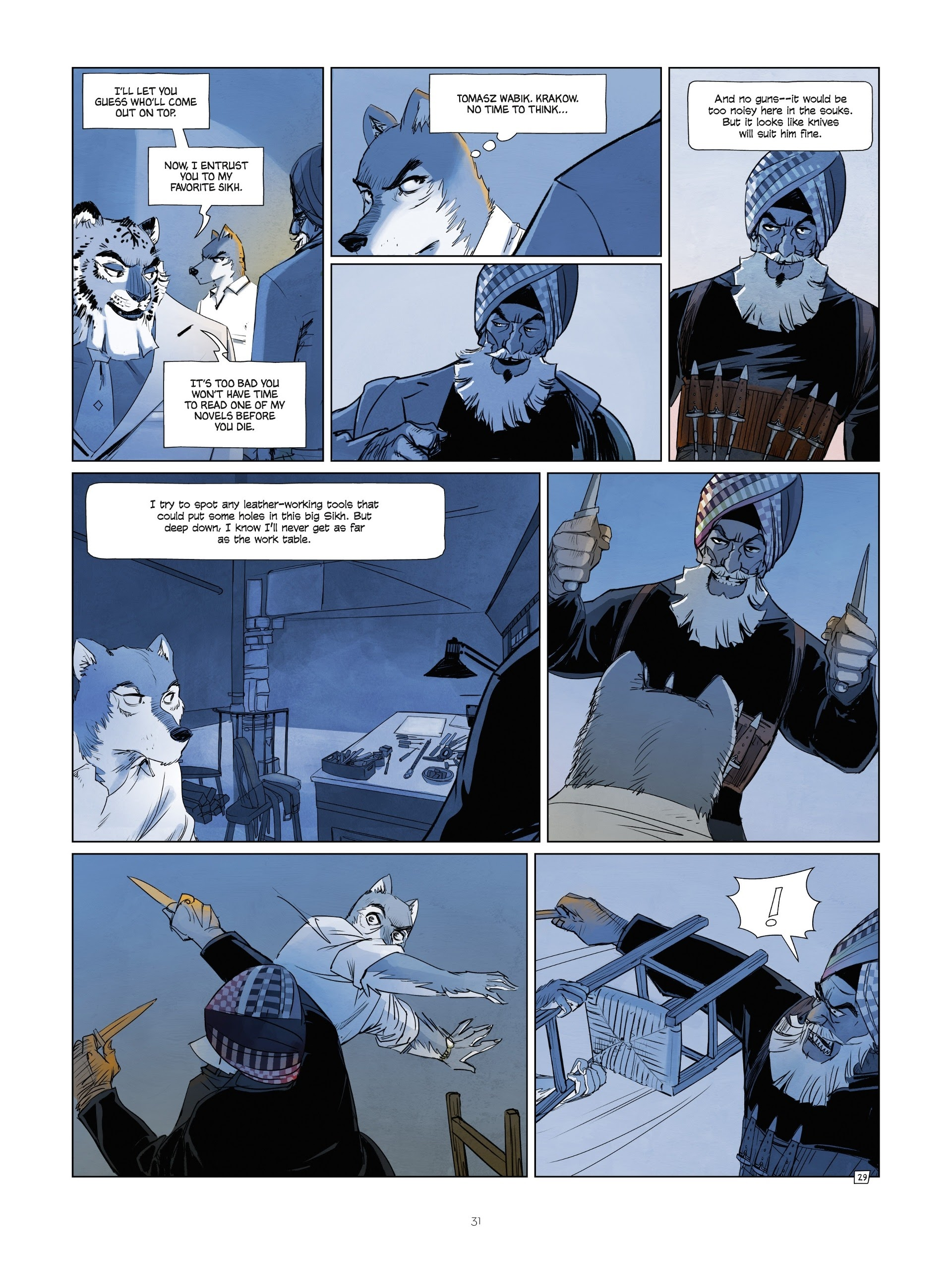 Read online Jack Wolfgang comic -  Issue #3 - 33