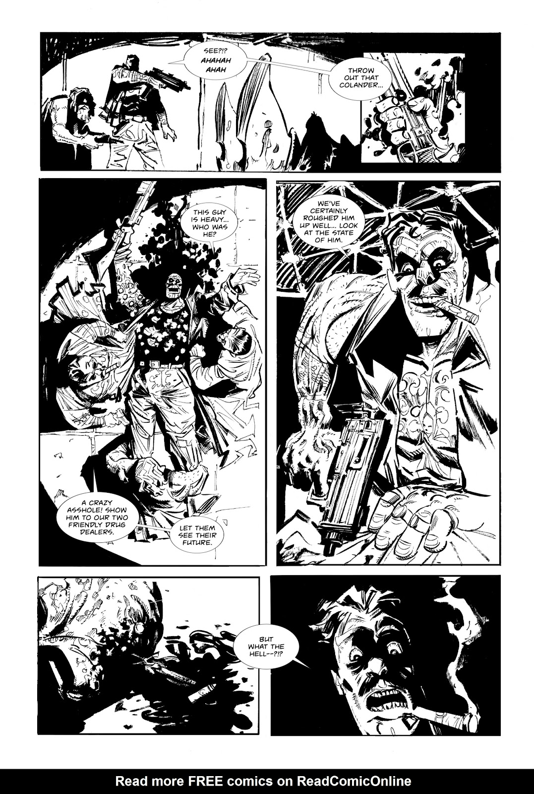 Read online Wrath of God comic -  Issue #1 - 15
