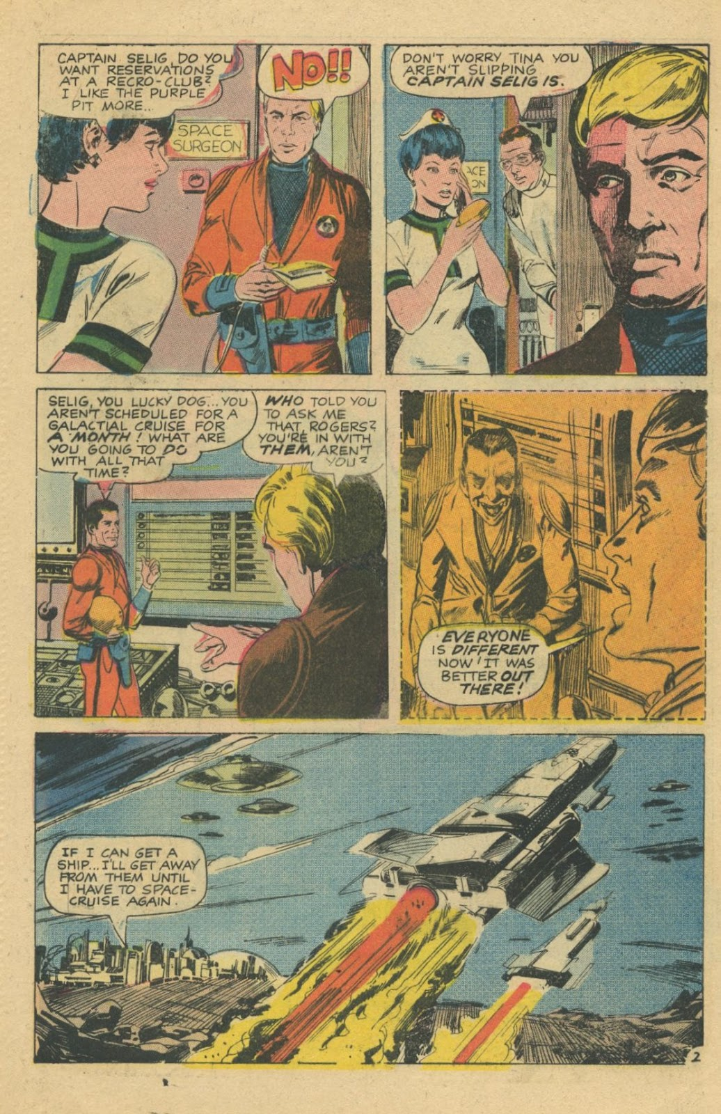Space Adventures (1968) issue 8 - Page 4