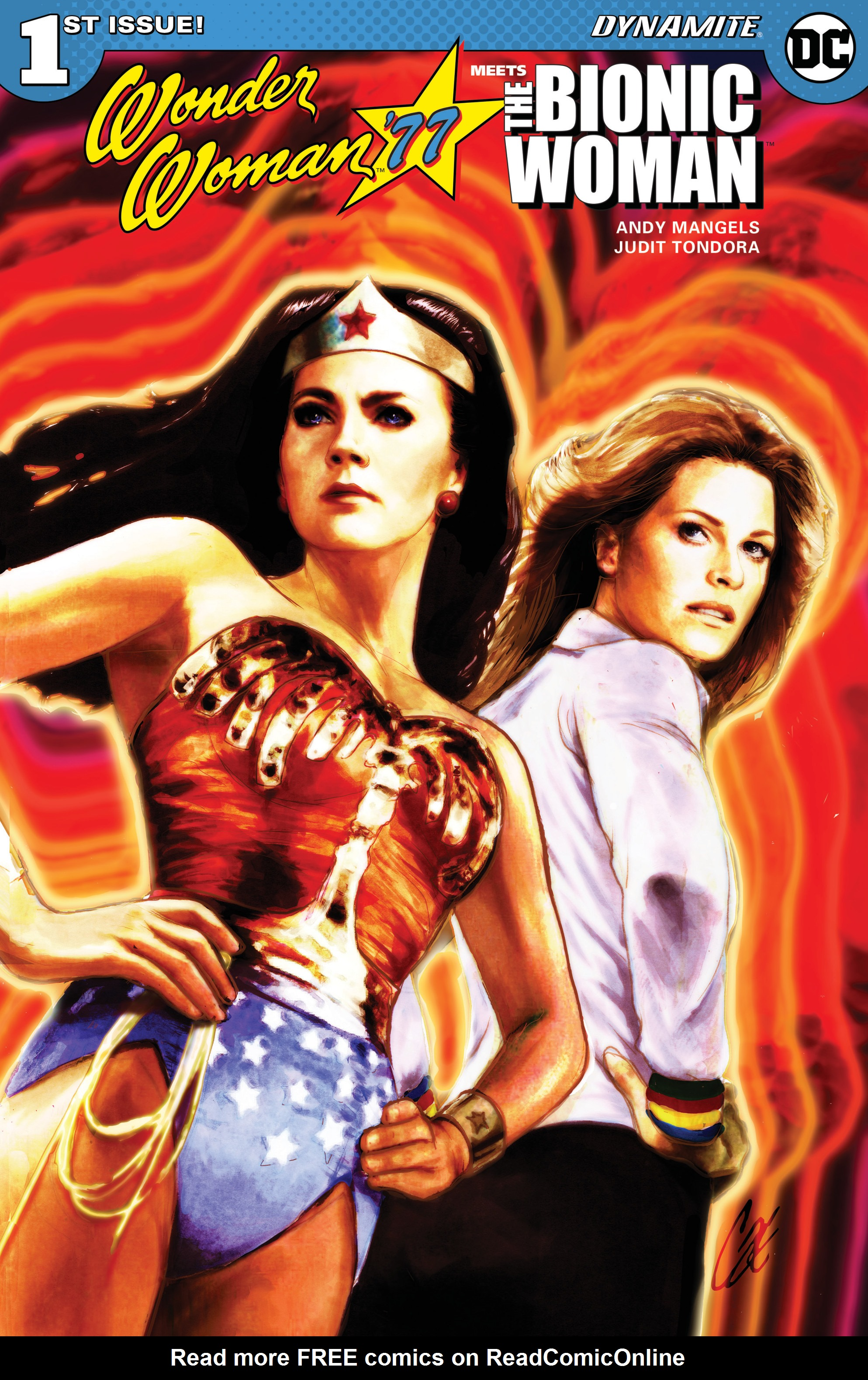 Read online Wonder Woman '77 Meets The Bionic Woman comic -  Issue #1 - 1