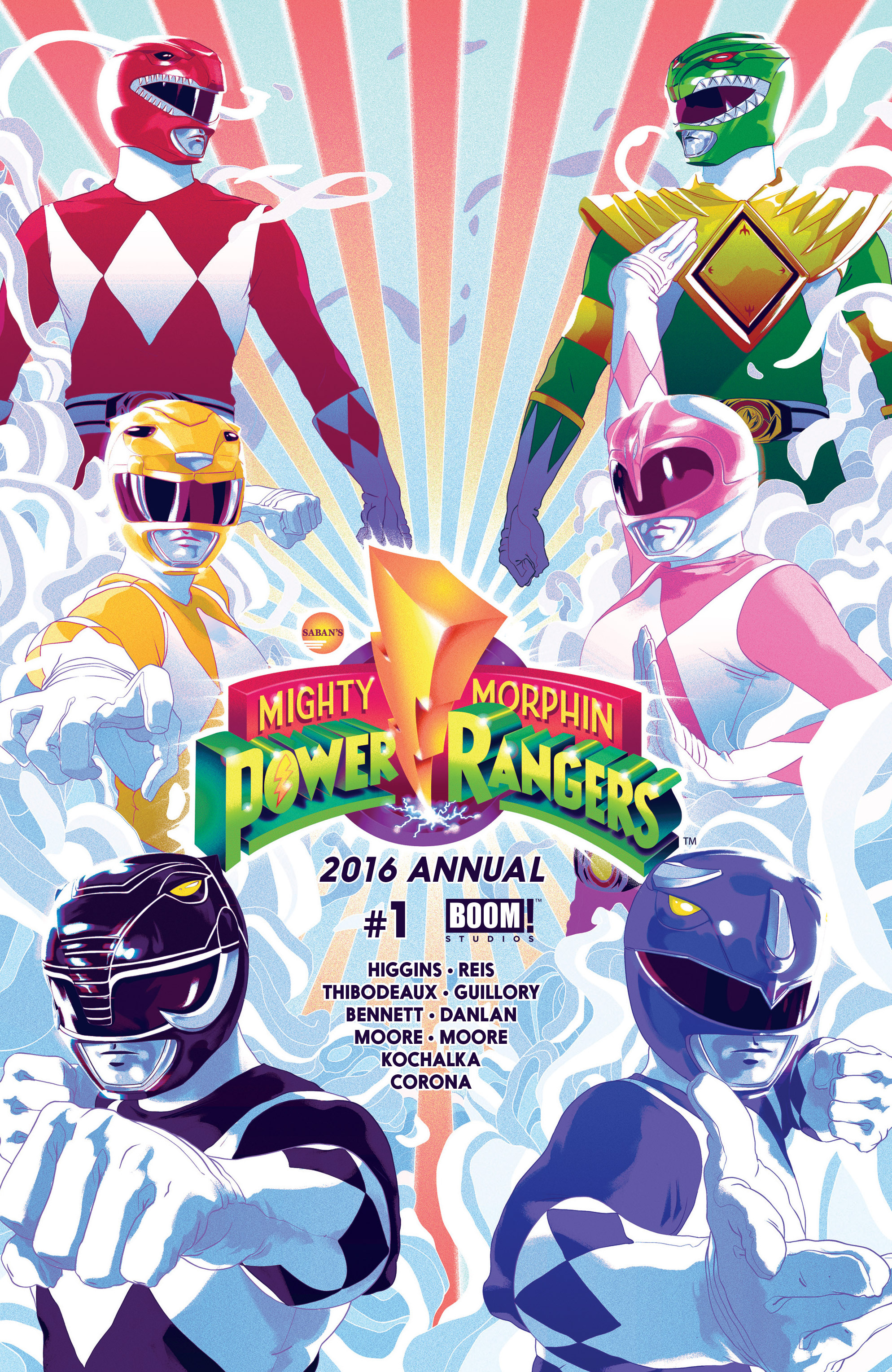 Mighty Morphin Power Rangers _Annual_2016 Page 1