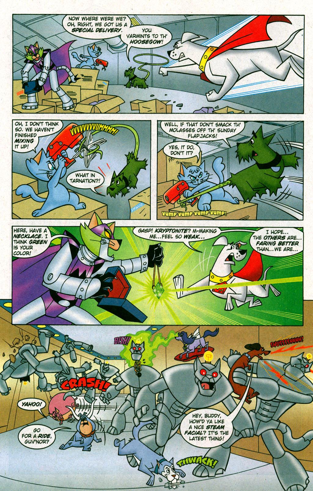 Read online Krypto the Superdog comic -  Issue #6 - 9