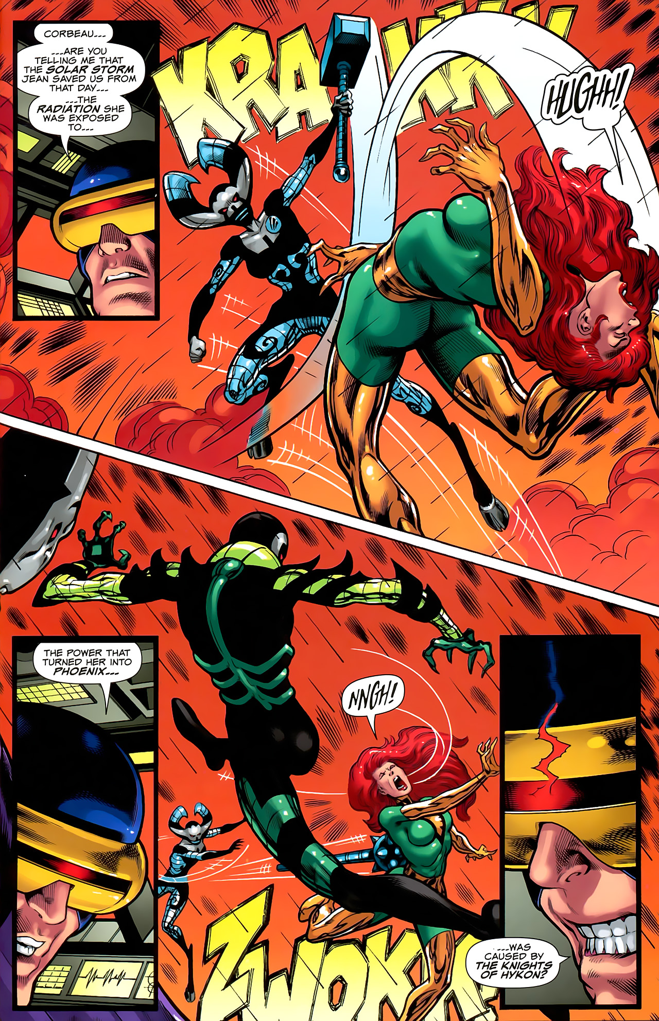 Read online Uncanny X-Men: First Class comic -  Issue #6 - 22