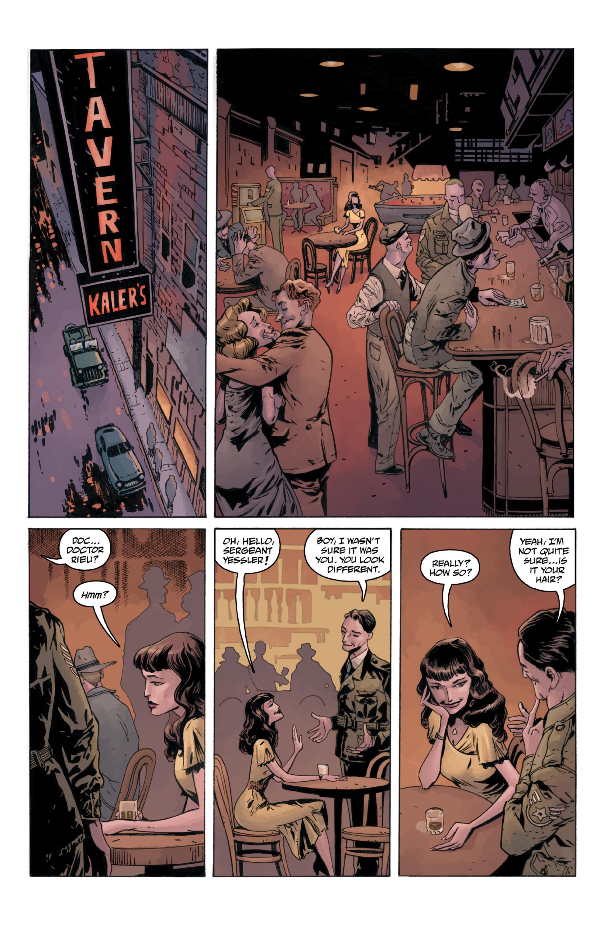 Read online B.P.R.D.: 1948 comic -  Issue # TPB - 67