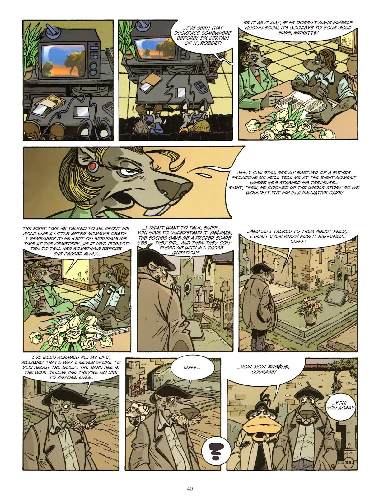 Une enquête de l'inspecteur Canardo issue 11 - Page 41
