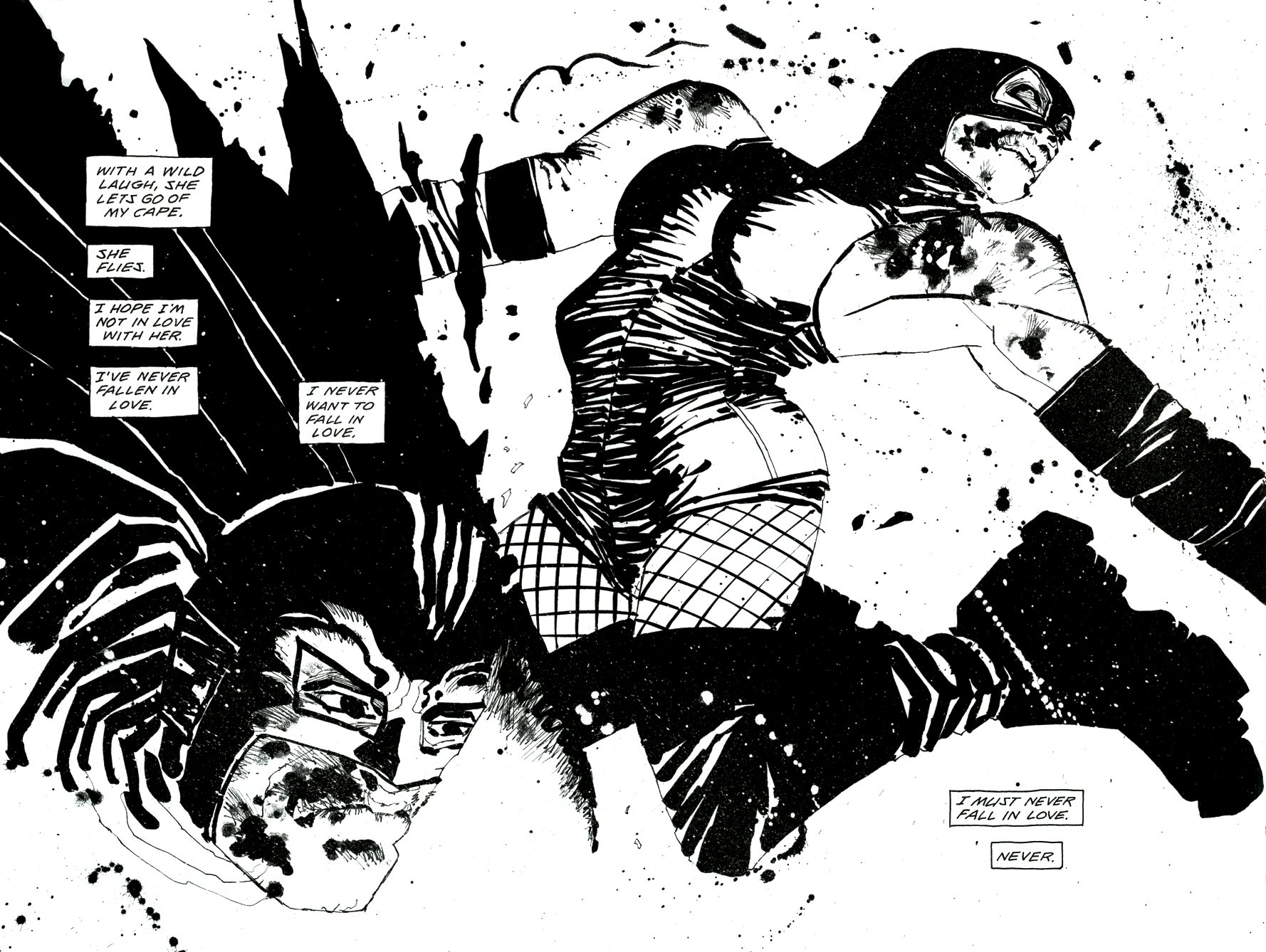 Read online Frank Miller's Holy Terror comic -  Issue # TPB - 71
